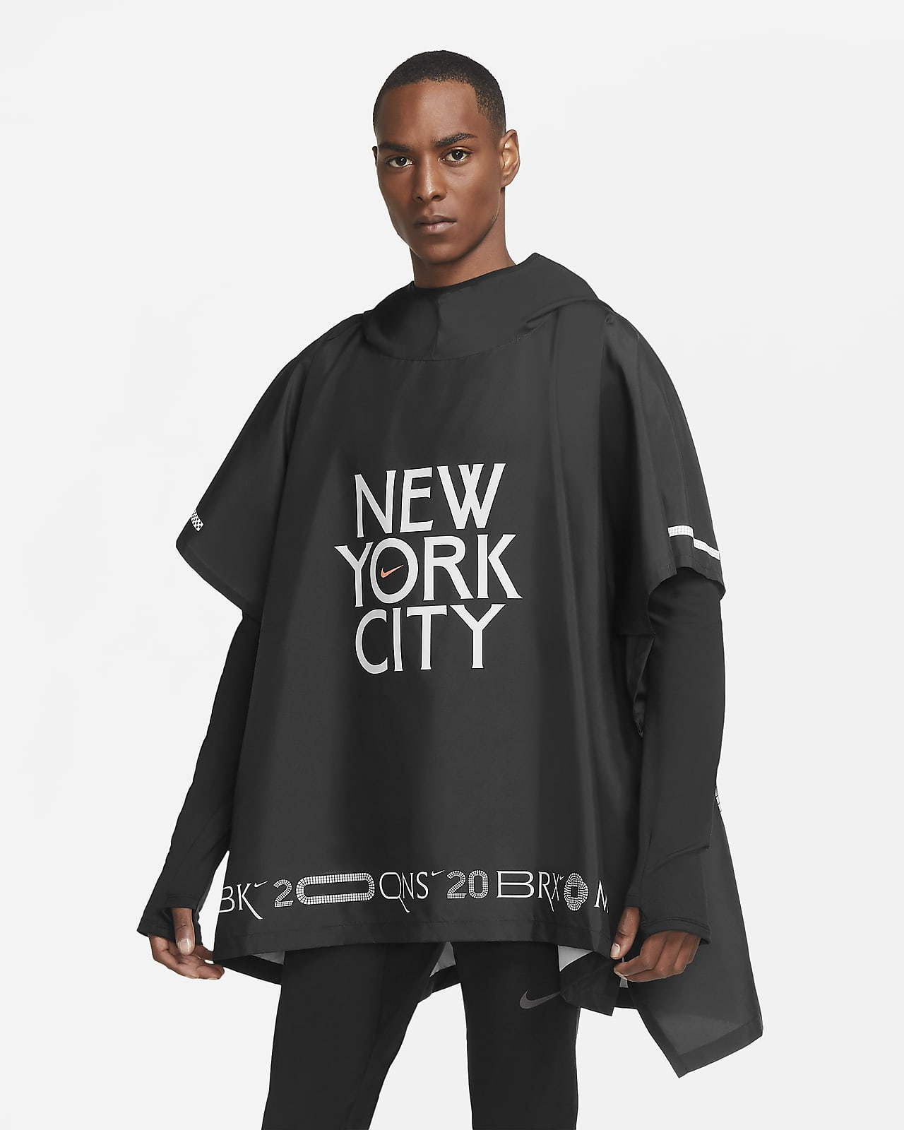 Nike Marathoner NYC Running Jacket