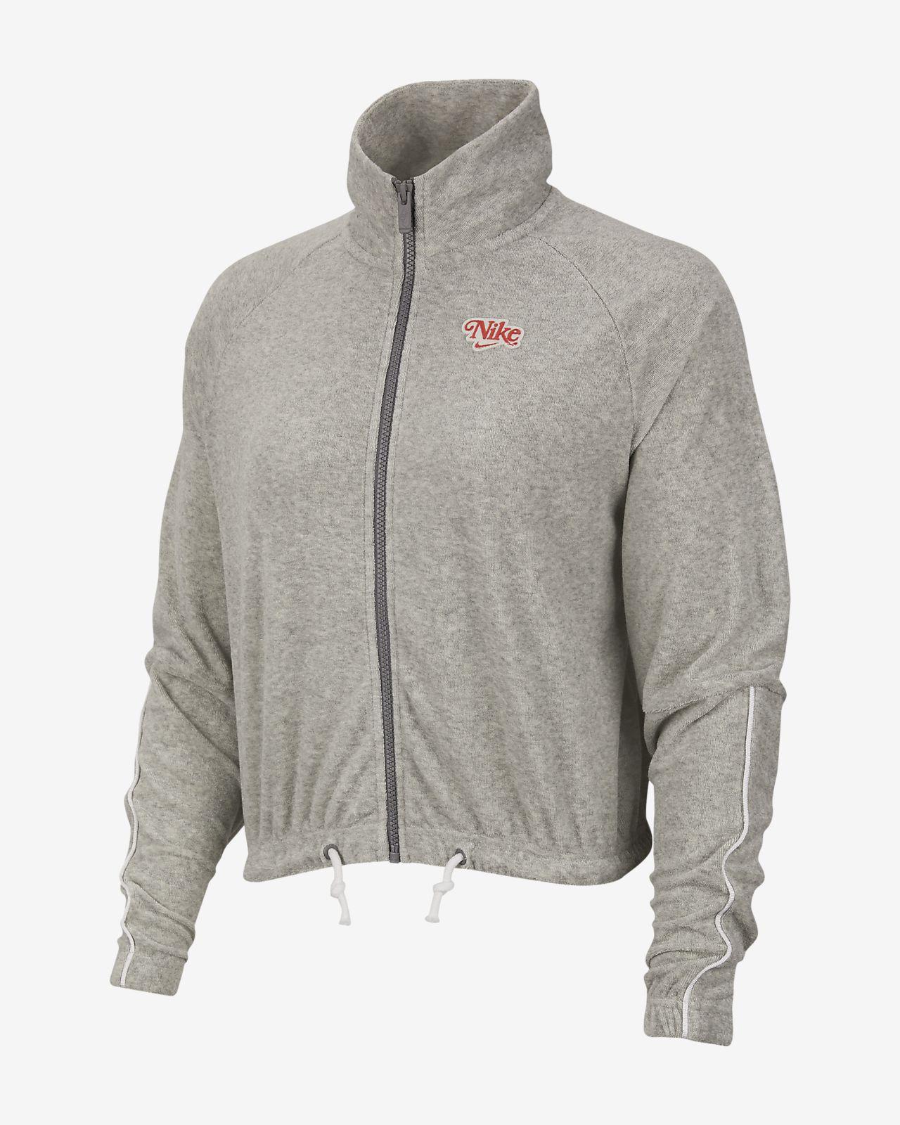 Nike Sportswear-jakke med lynlås til kvinder