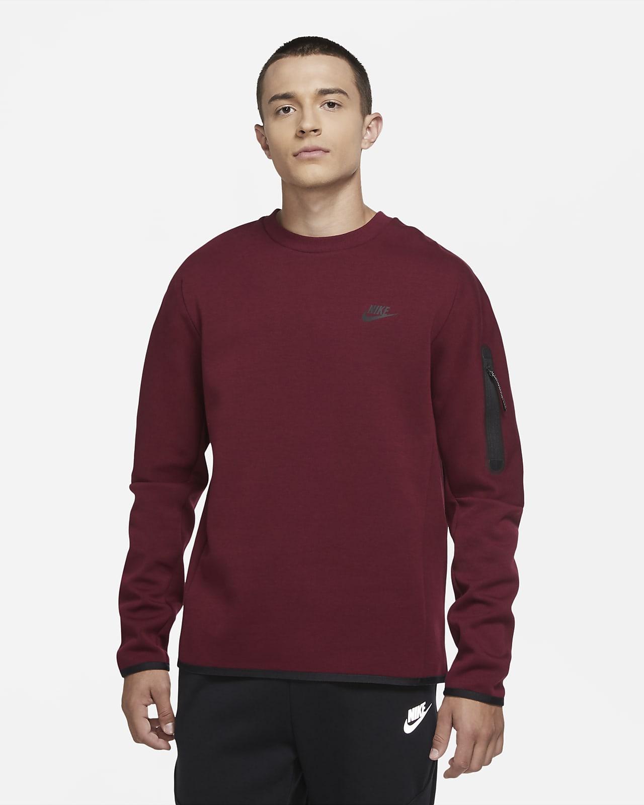 Nike Sportswear Tech Fleece-trøje med rund hals til mænd