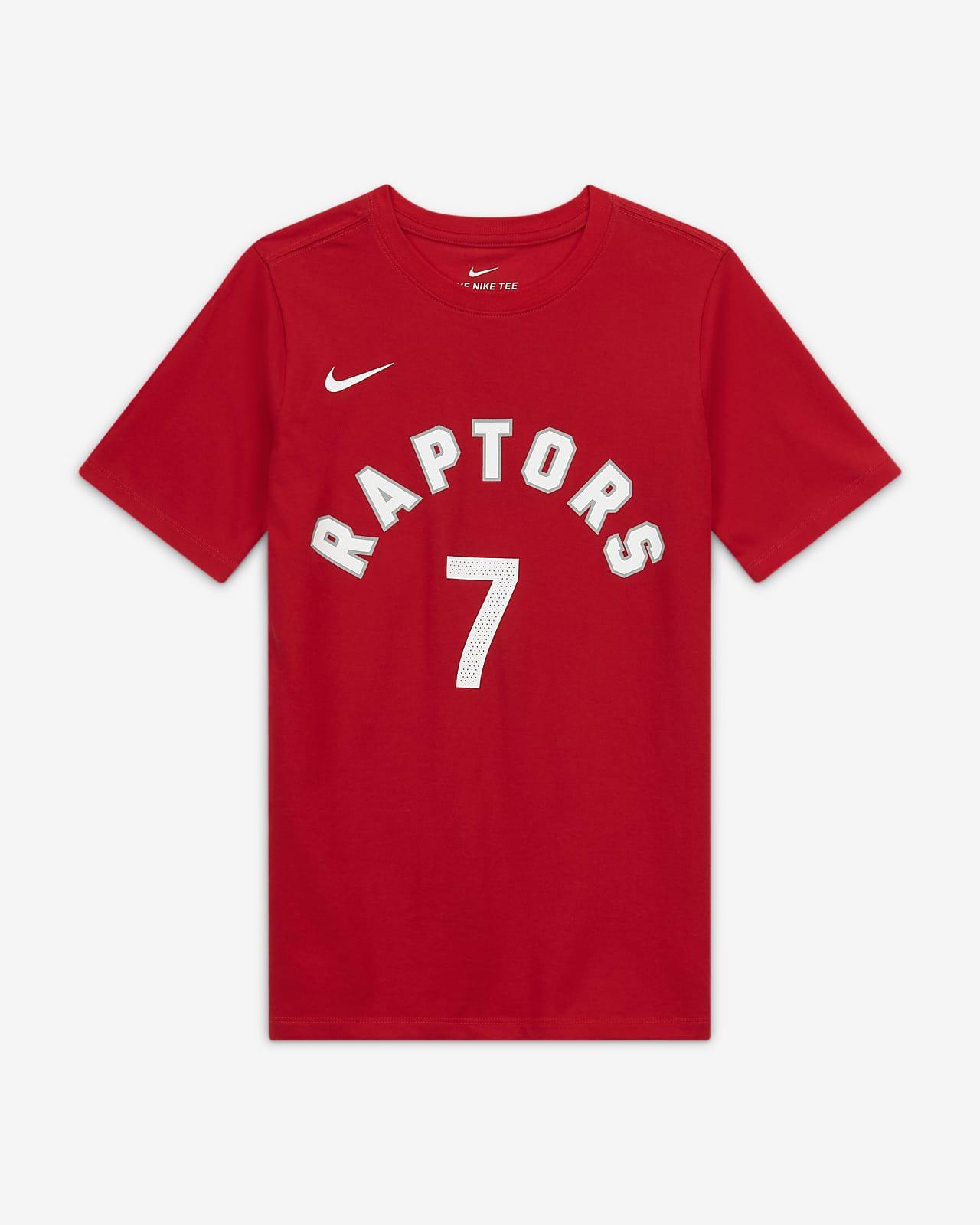 Tee-shirt NBA Nike Dri-FIT Kyle Lowry Raptors pour Enfant plus âgé
