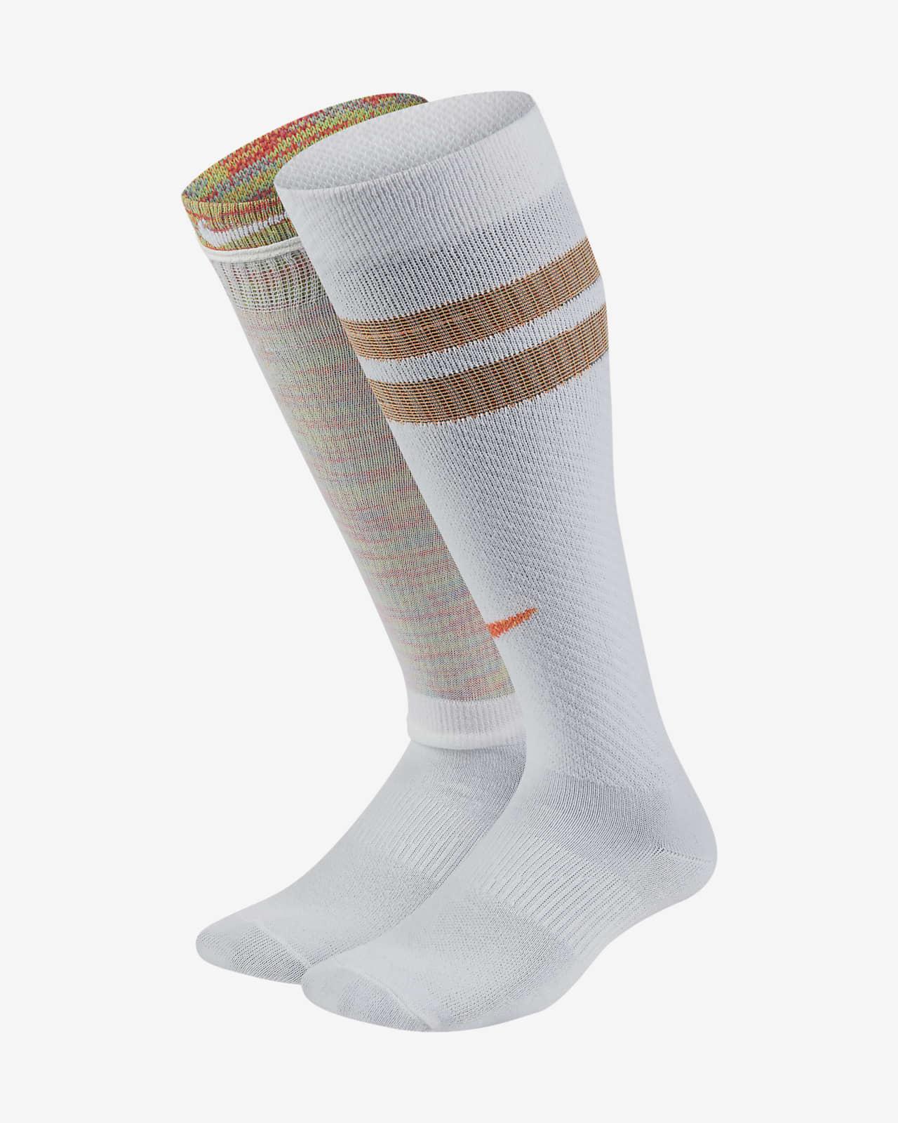 Nike Everyday Lichte Over-the-Calf sokken voor kids (2 paar)
