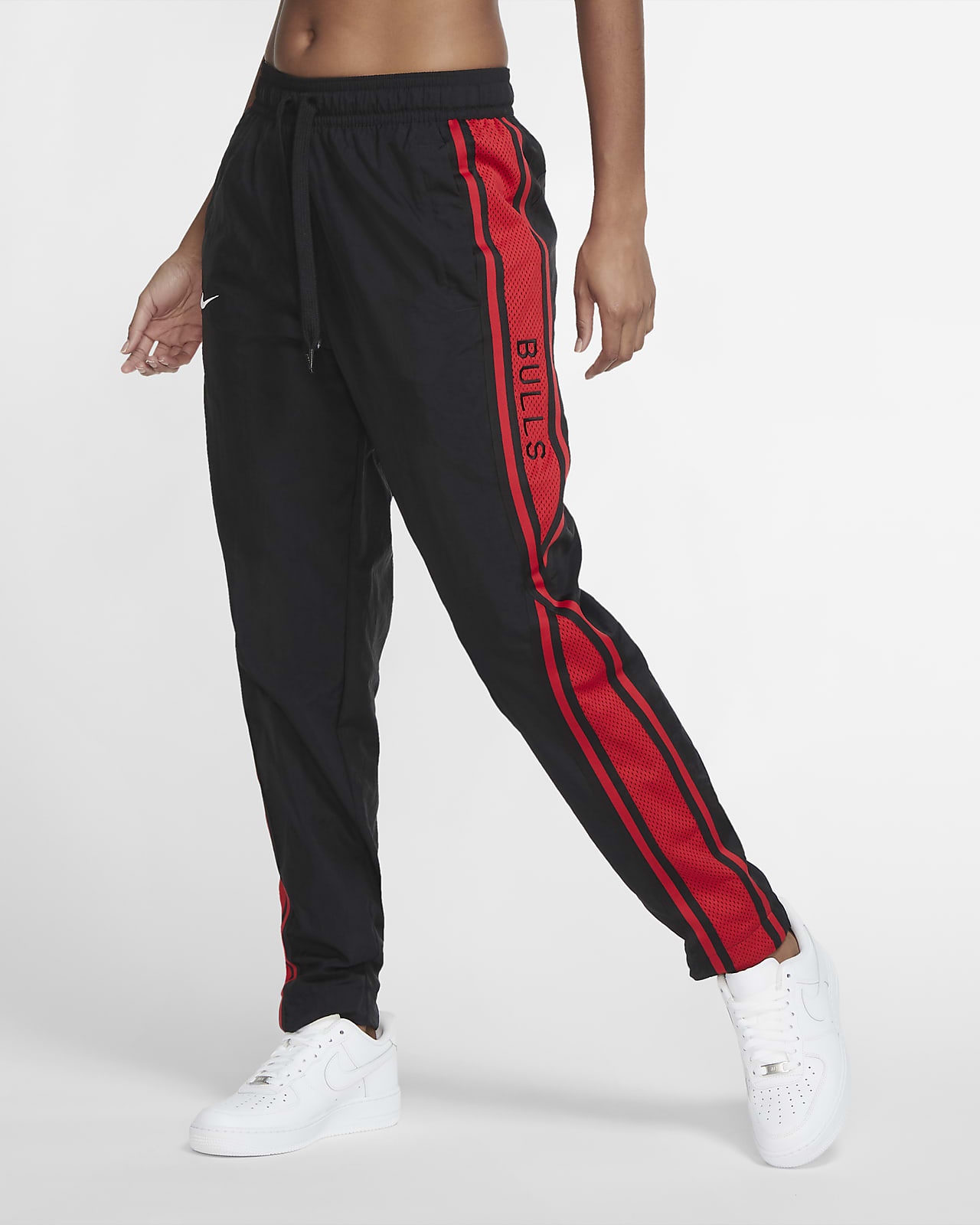 Chicago Bulls Courtside Women's Nike NBA Tracksuit Pants