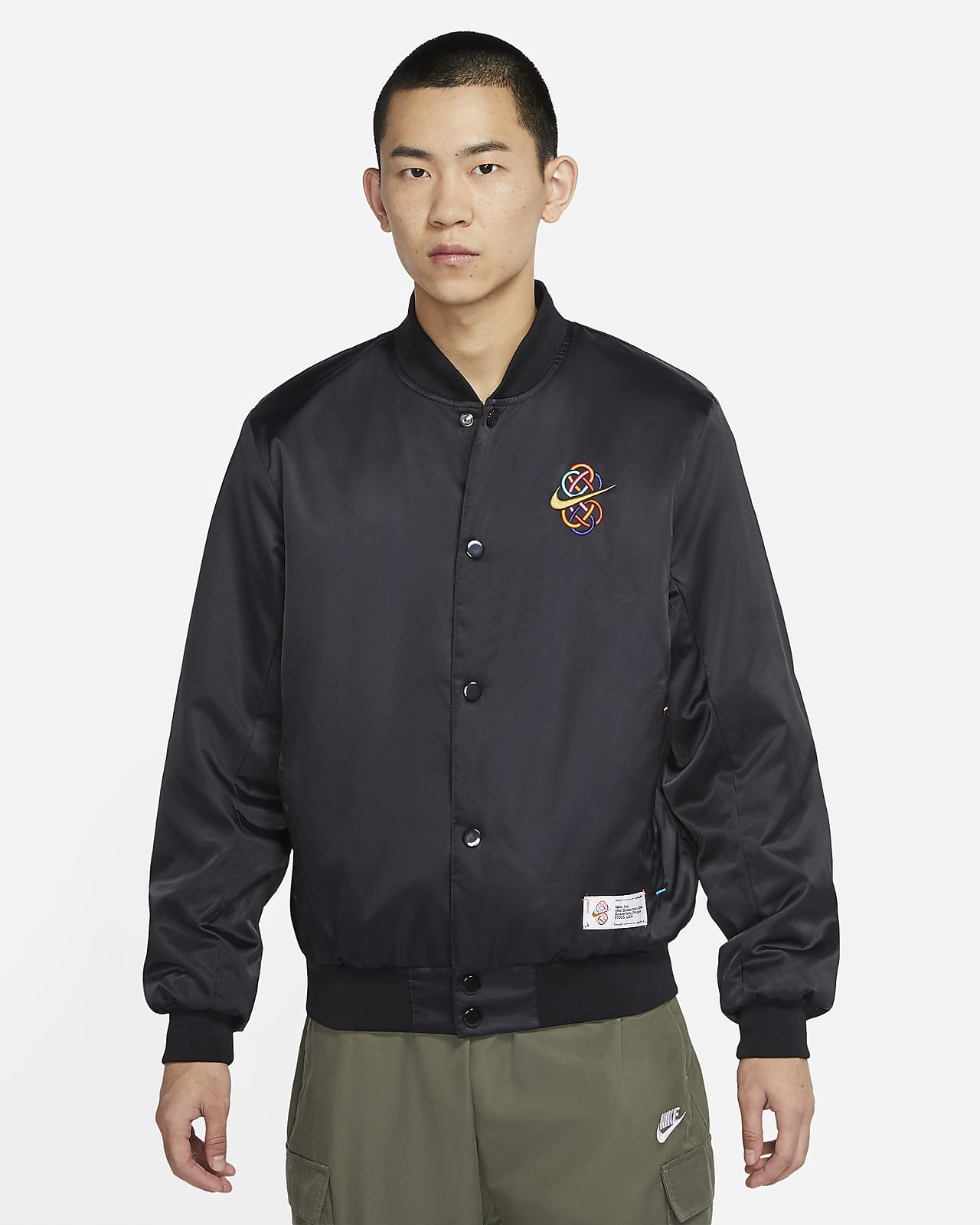 Nike Sportswear Varsity 男子梭织夹克