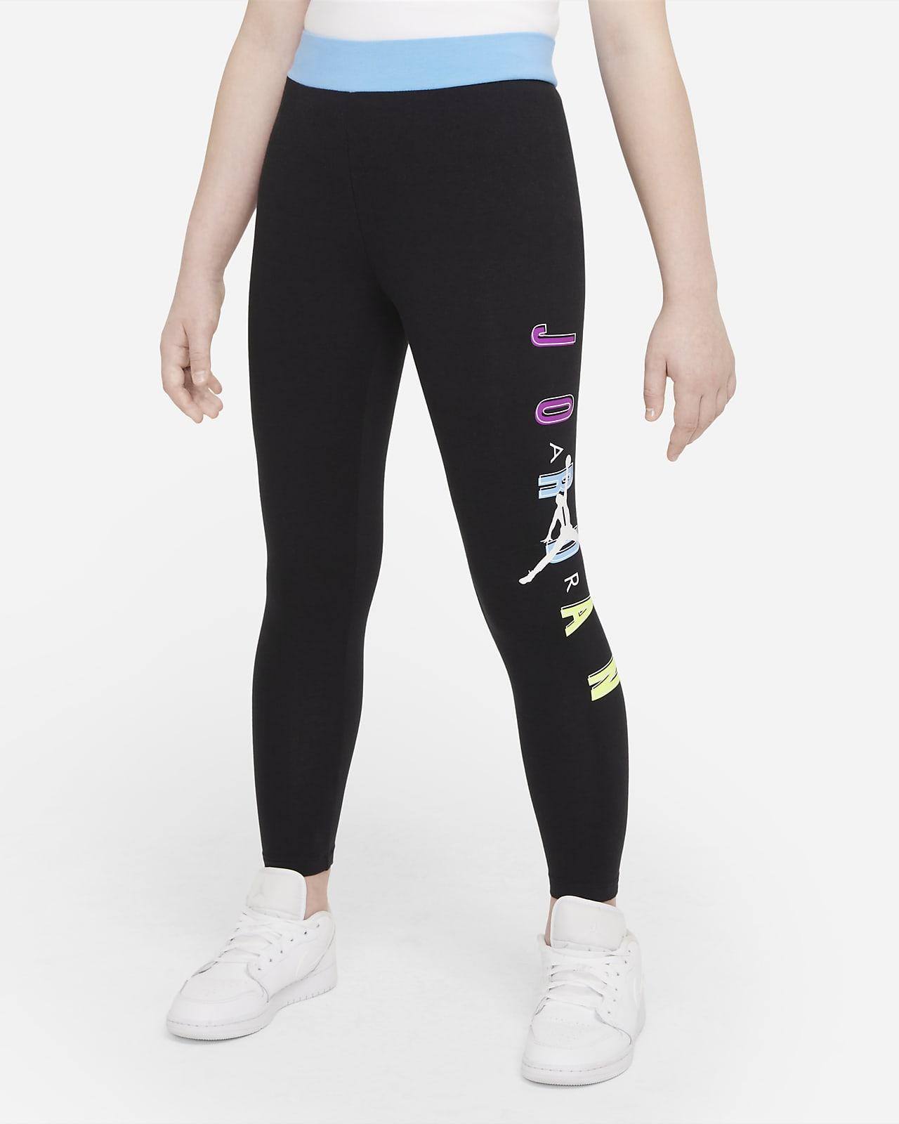 Leggings de cintura alta para niñas talla grande