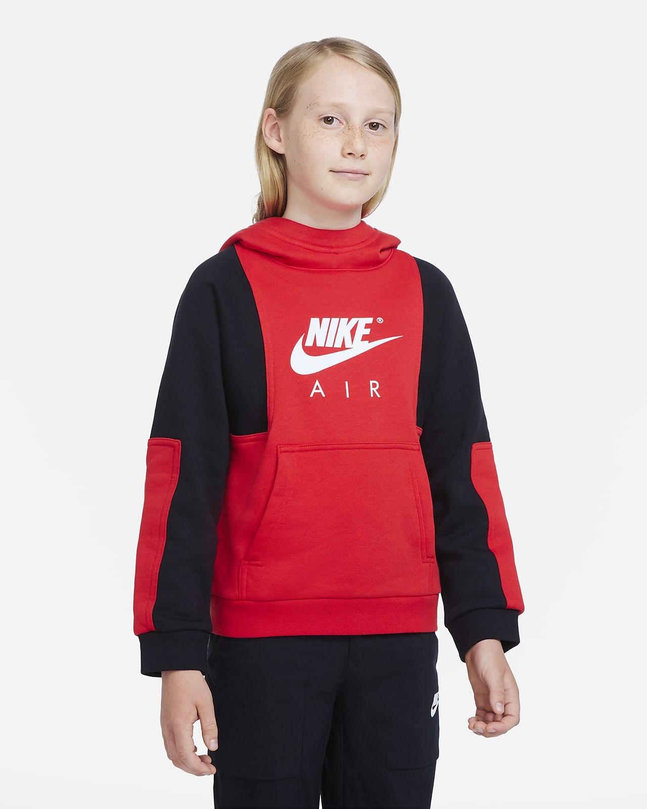 Nike Air Genç Çocuk (Erkek) Kapüşonlu Sweatshirt'ü