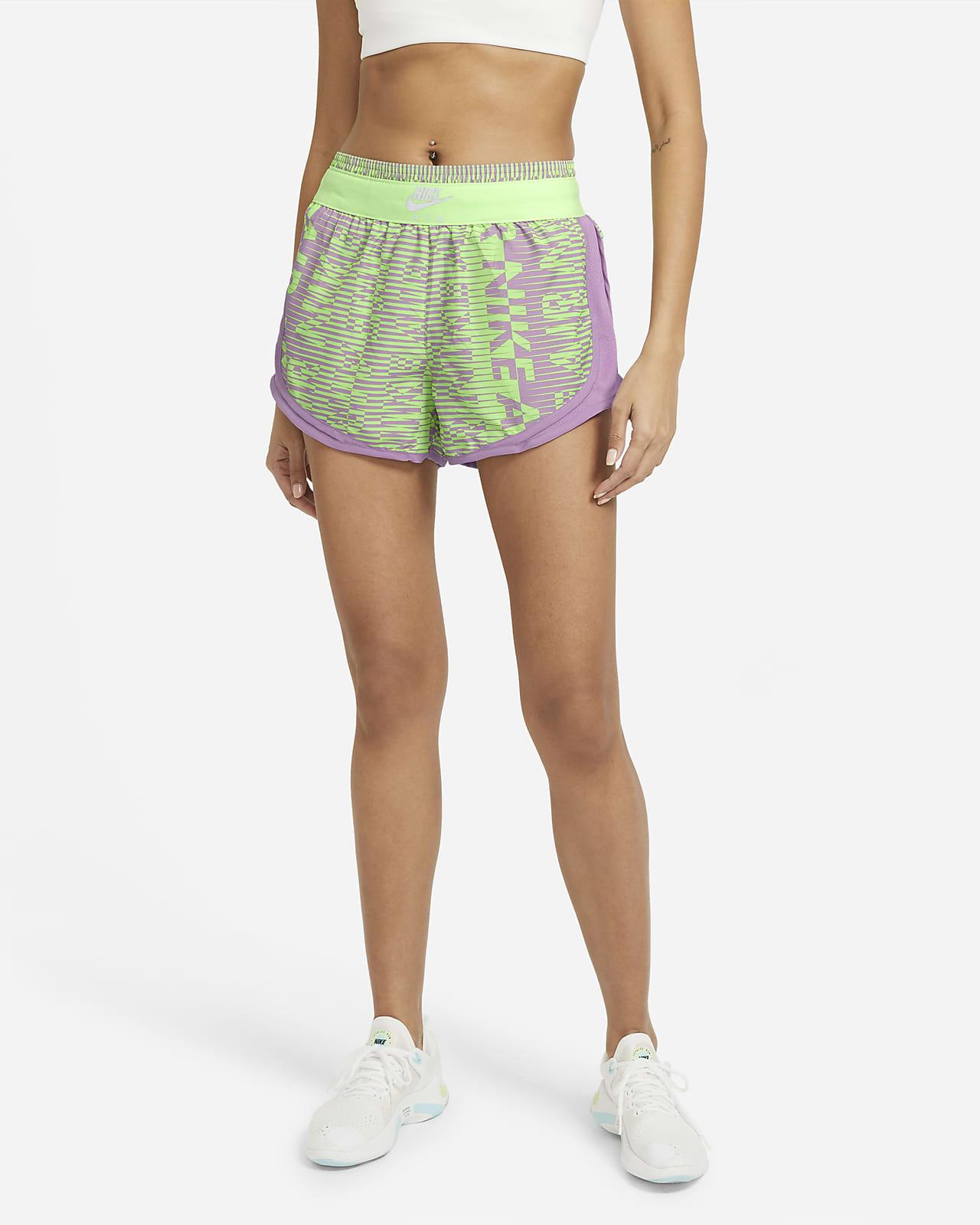 Löparshorts Nike Air Tempo med tryck för kvinnor