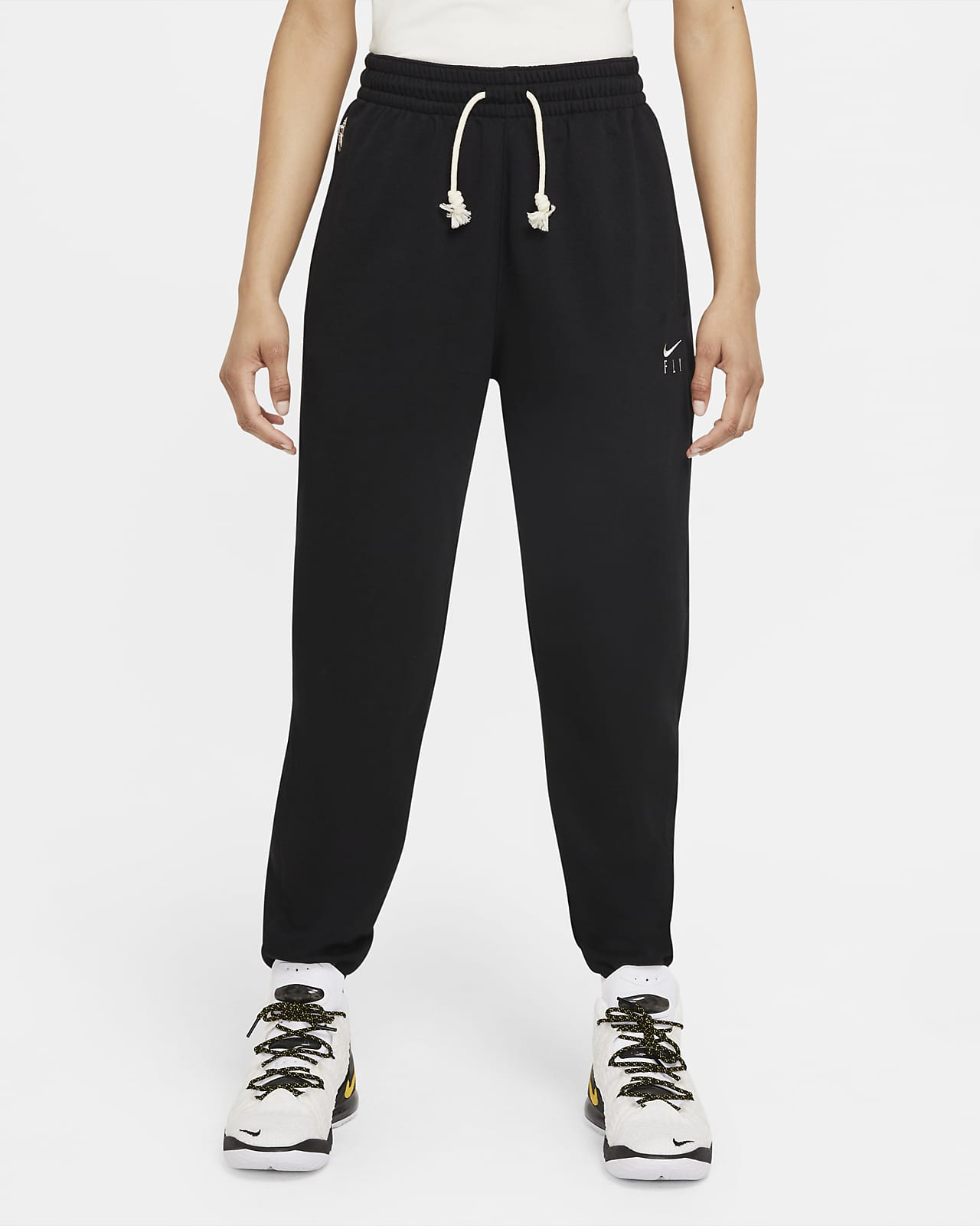 Pantalon de basketball Nike Dri-FIT Swoosh Fly Standard Issue pour Femme