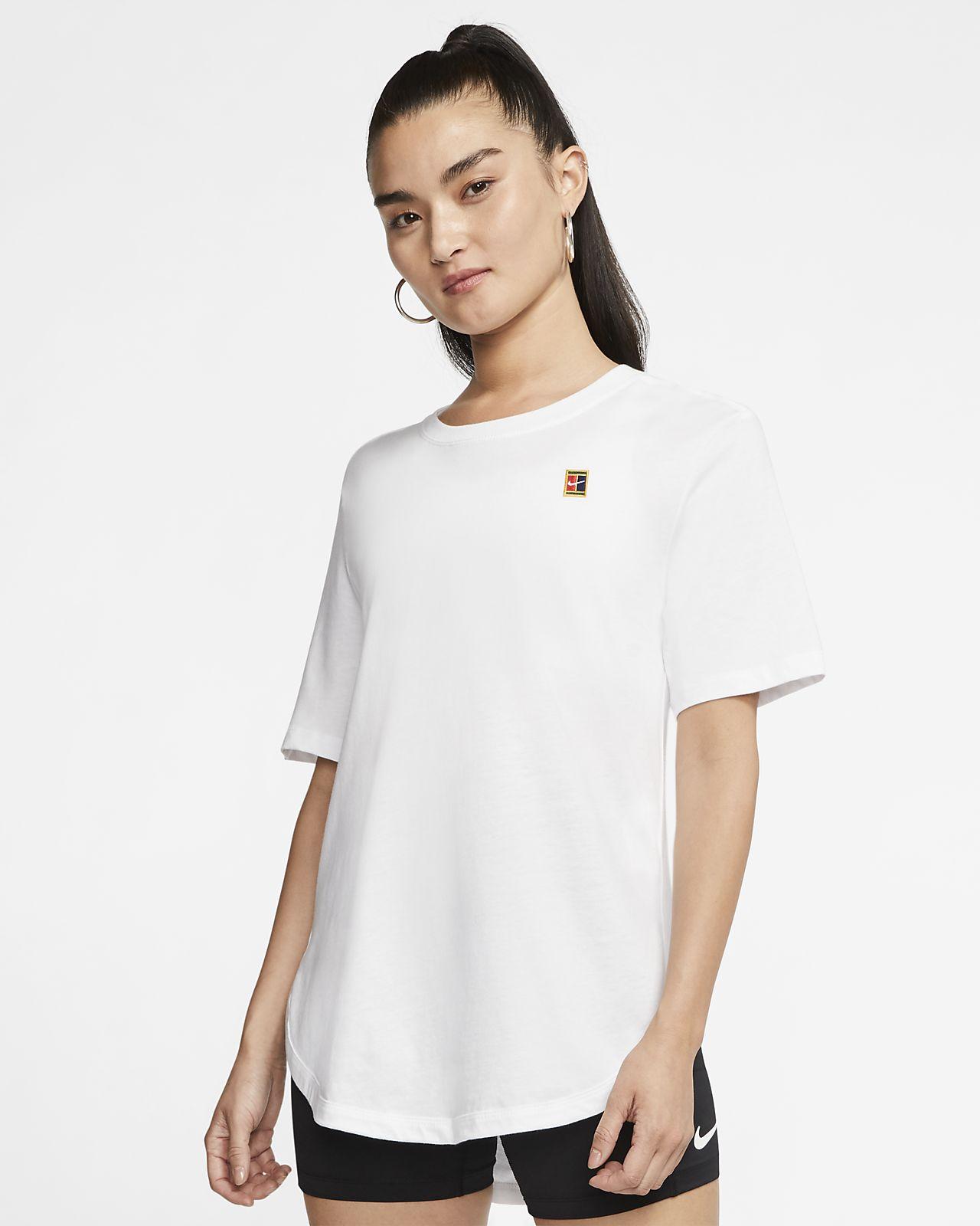 t-shirt femme nike court