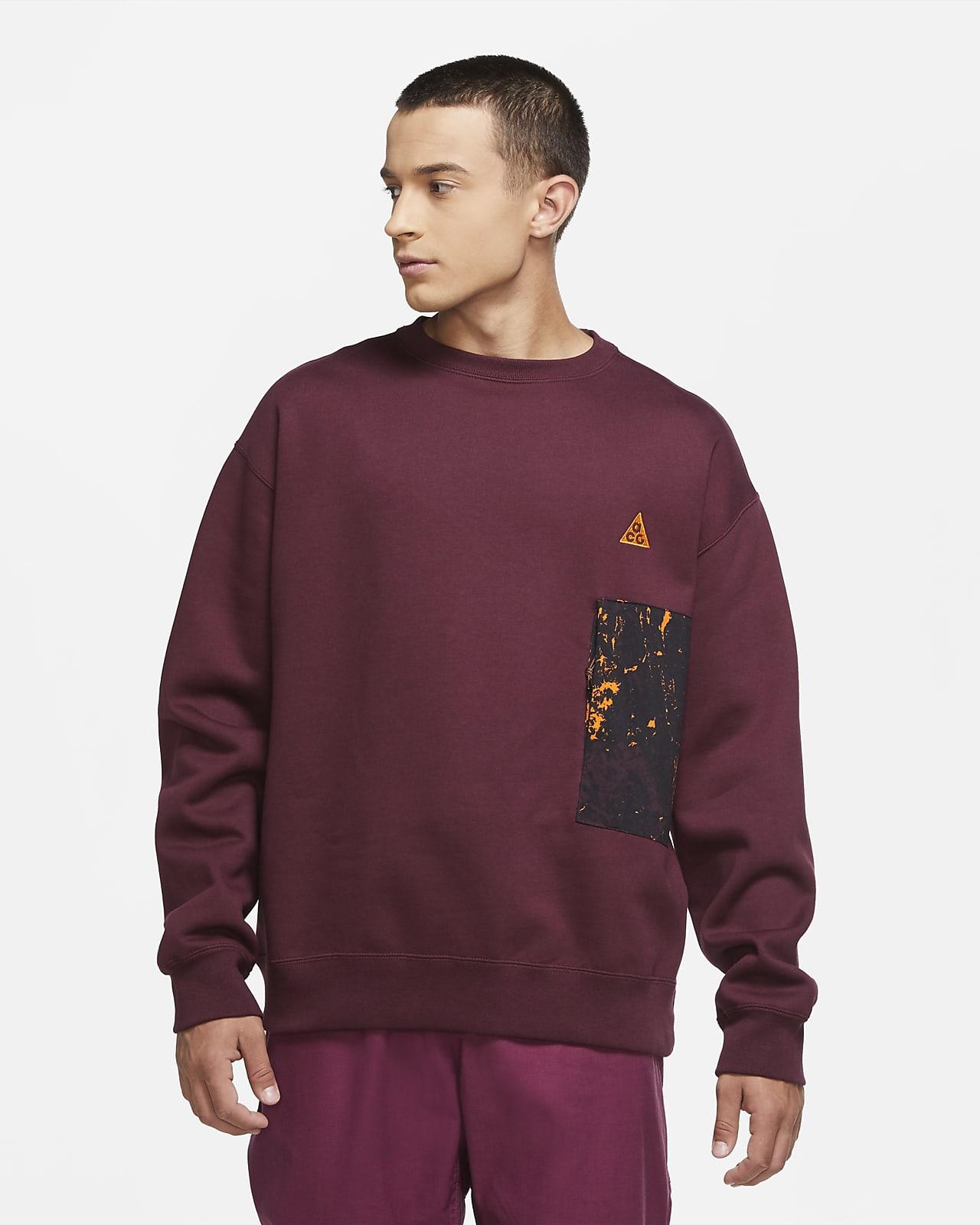 Sweat-shirt à col ras-du-cou Nike ACG pour Homme