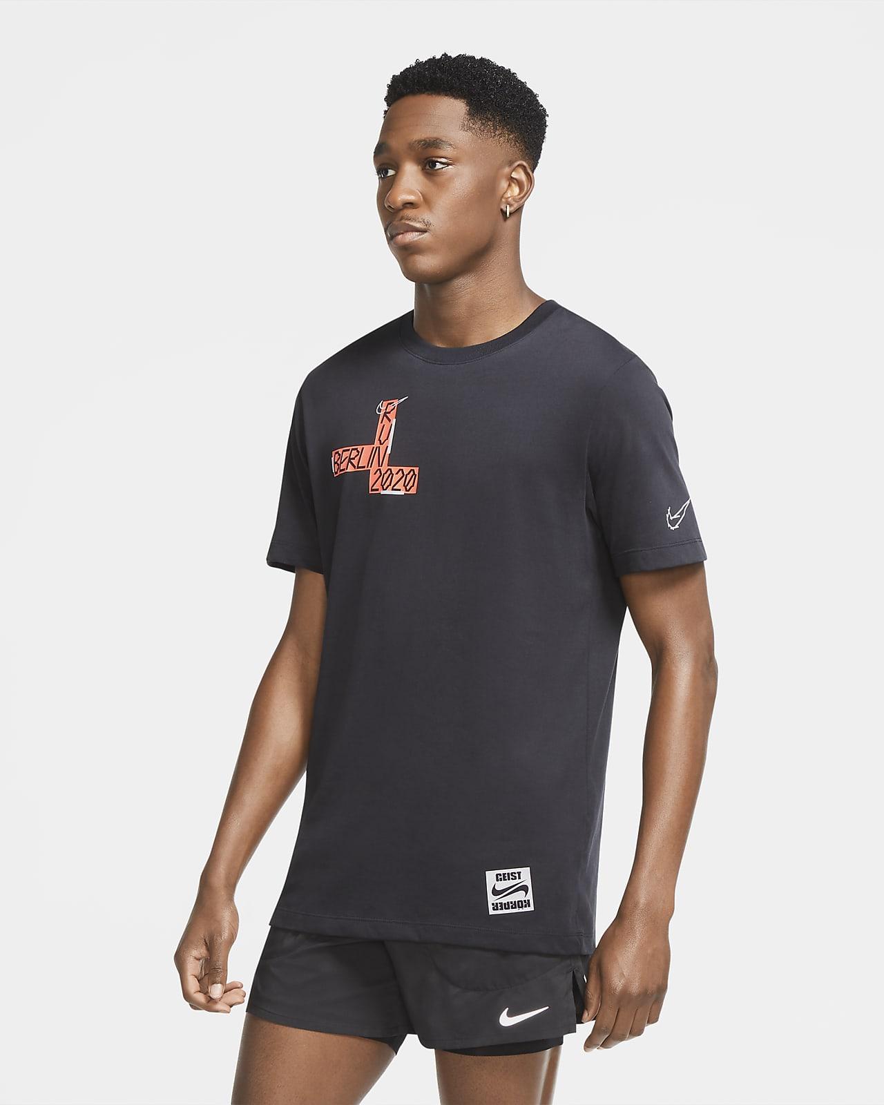 Nike Dri-FIT Berlin Lauf-T-Shirt für Herren