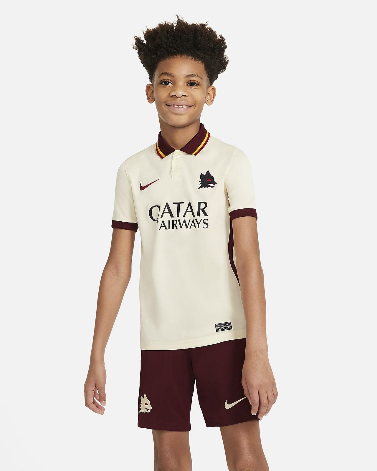 Koszulka piłkarska dla dużych dzieci AS Roma Stadium 2020/21 (wersja wyjazdowa)
