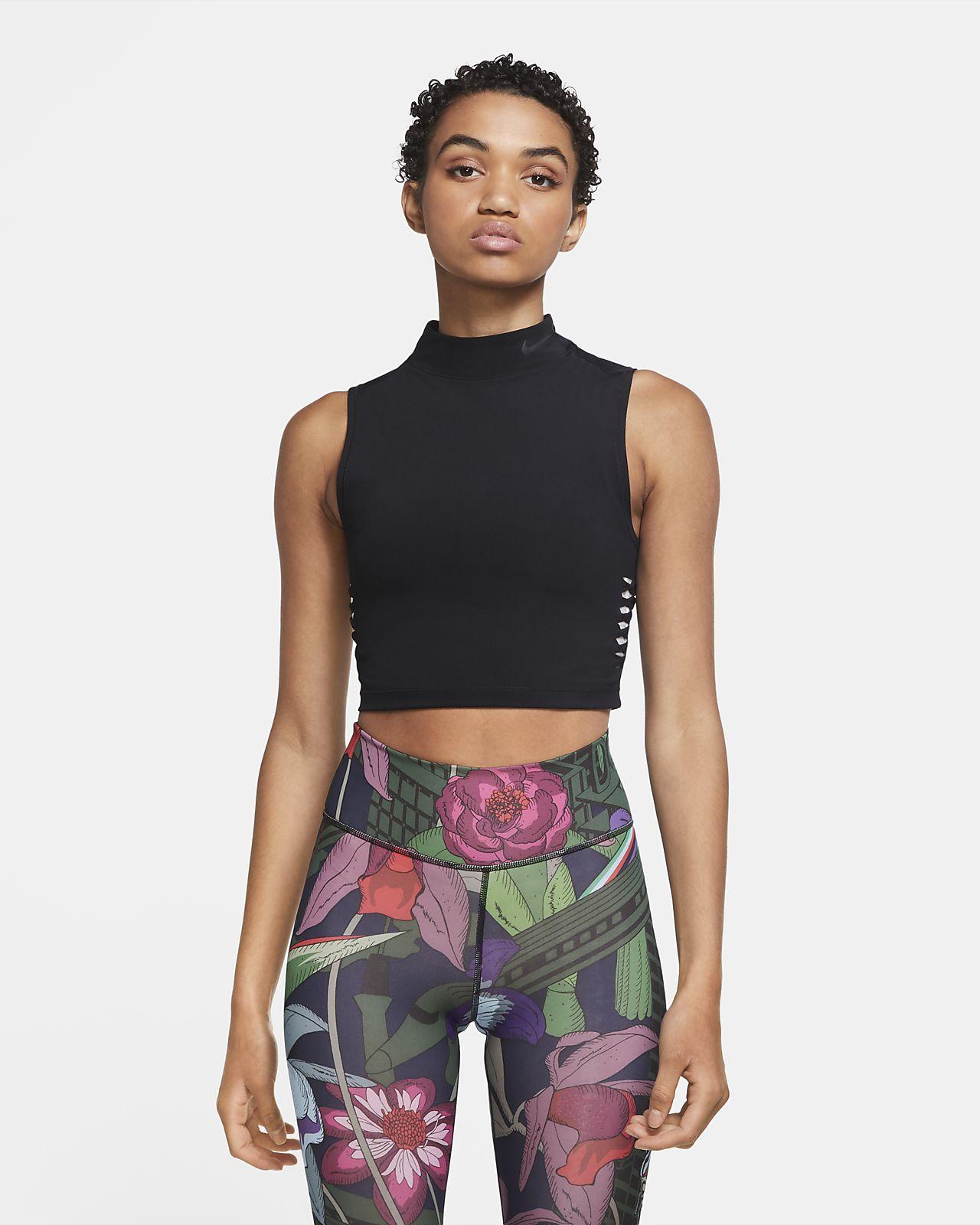 Nike Pro Dri-FIT Women's Cropped Tank