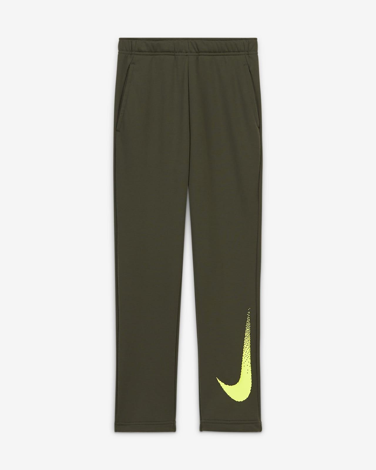 Nike Dri-FIT Older Kids' (Boys') Graphic Fleece Trousers