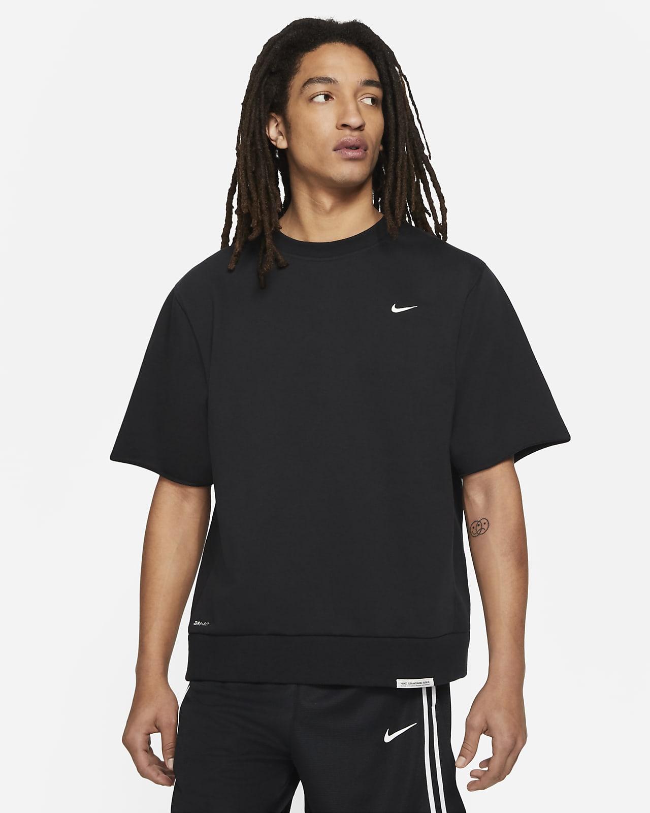 Prenda para la parte superior recortada de básquetbol para hombre Nike Dri-FIT Standard Issue