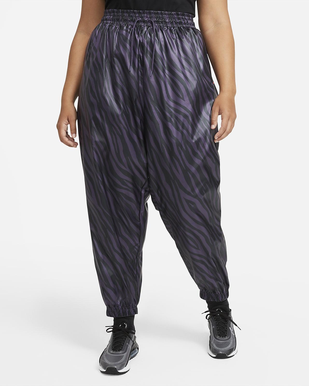 Calças Nike Sportswear Icon Clash para mulher (tamanhos grandes)
