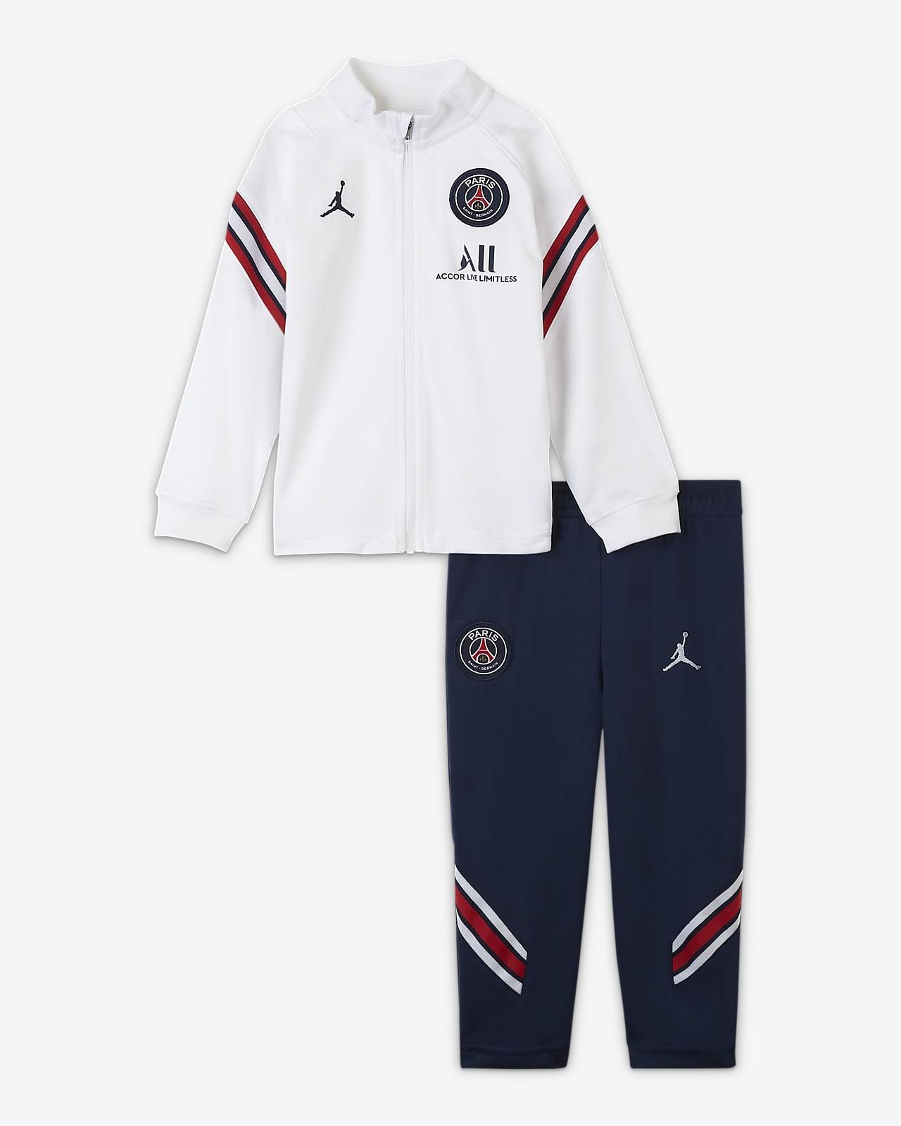 Трикотажный футбольный костюм для малышей Nike Dri-FIT Paris Saint-Germain Strike