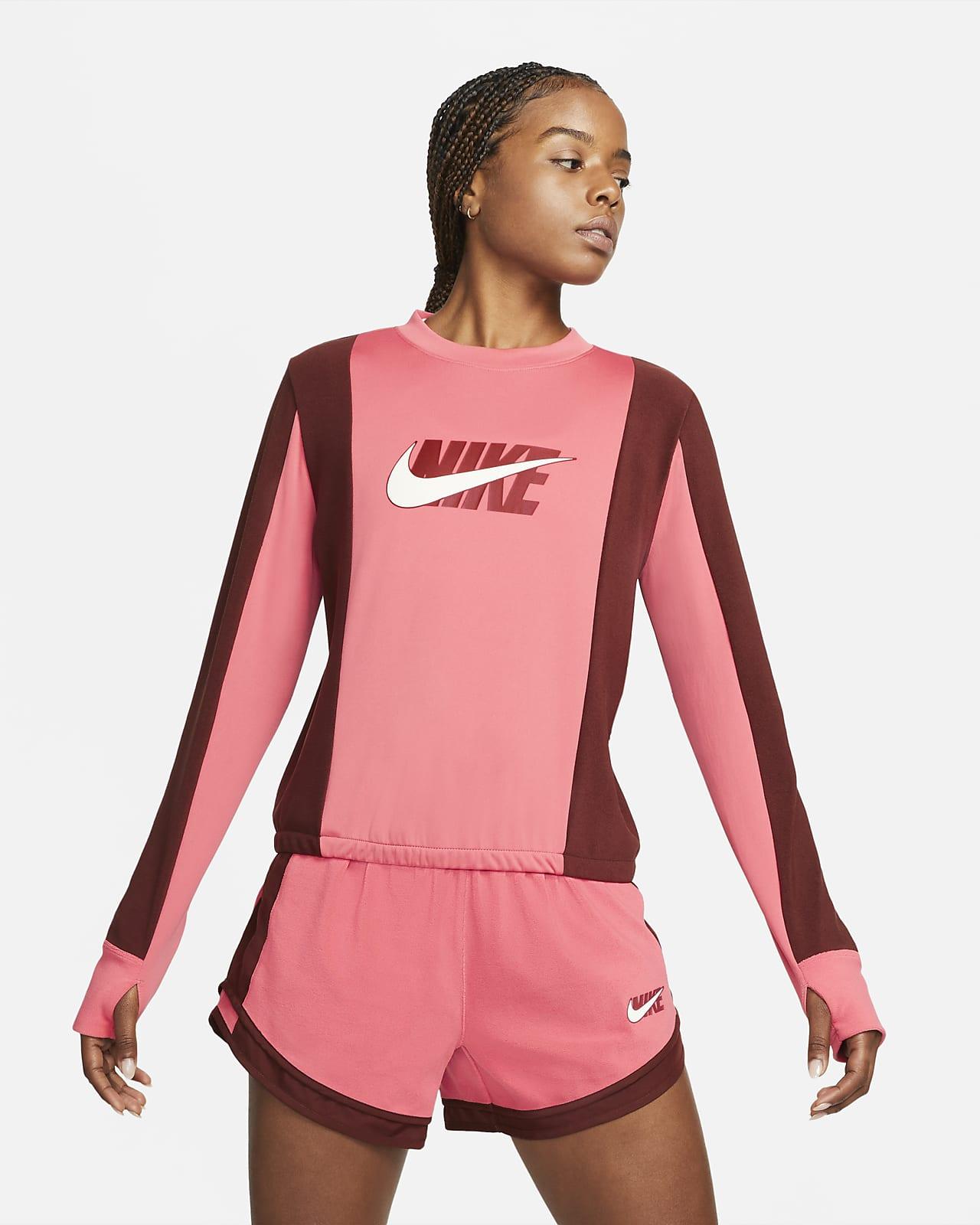 Mellanlagertröja Nike Dri-FIT Icon Clash för kvinnor