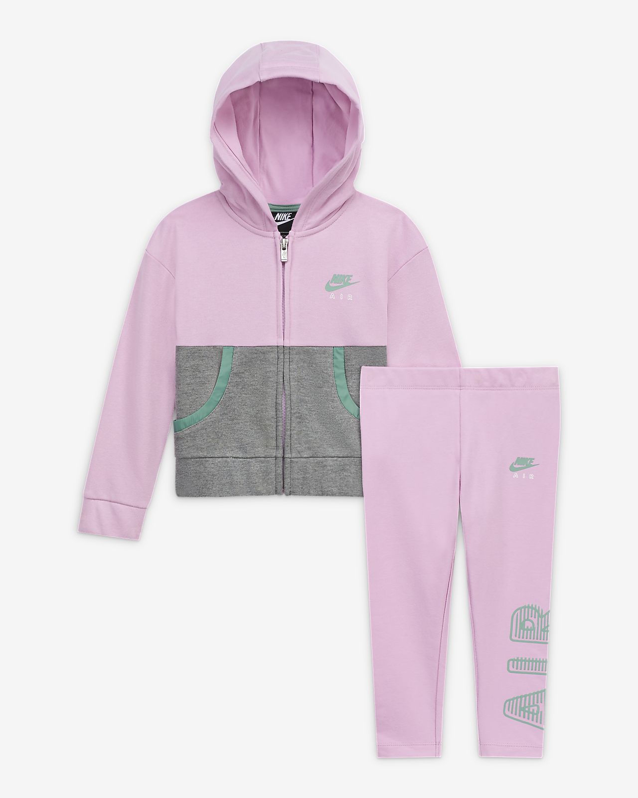 Nike Air Toddler Hoodie and Leggings Set