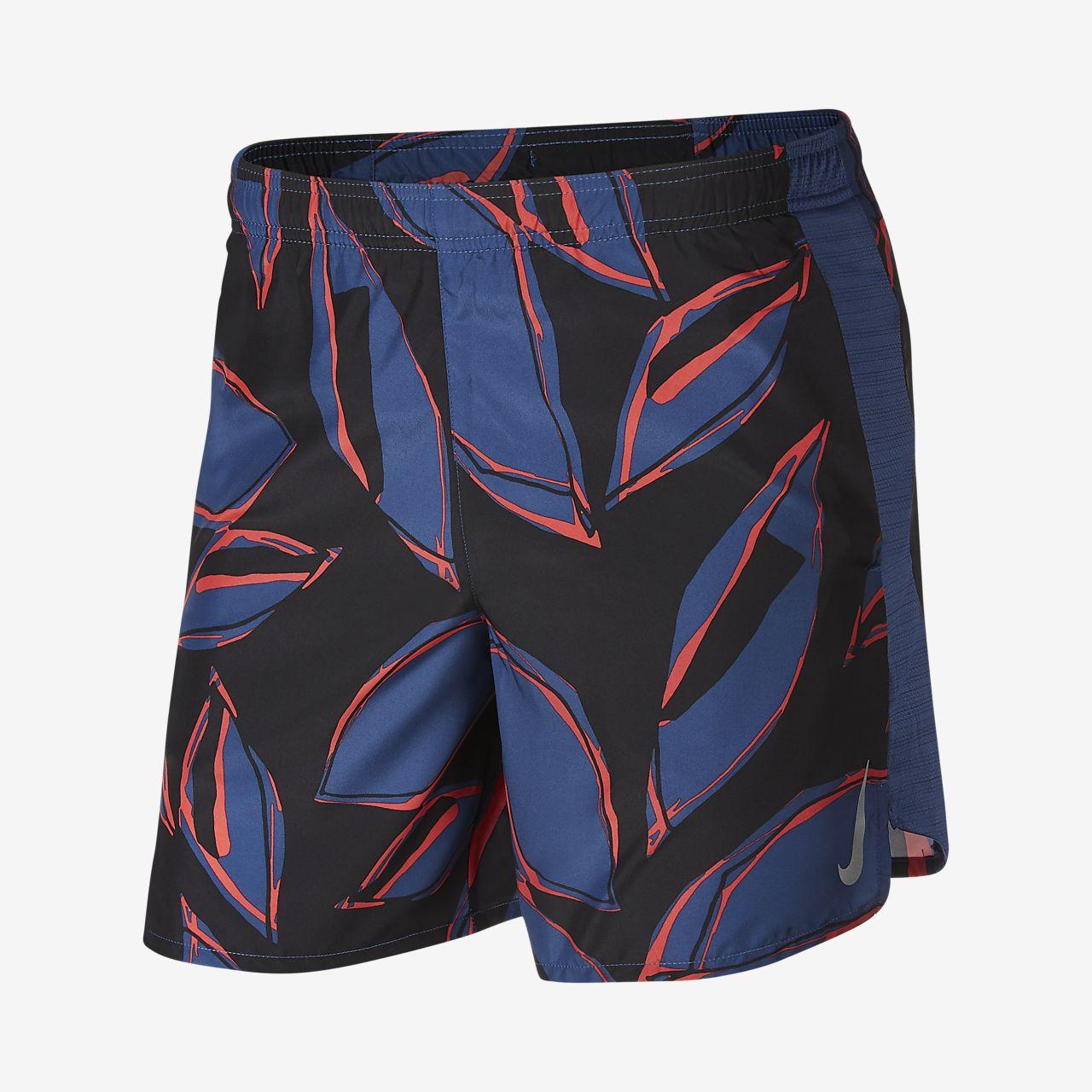 กางเกงวิ่งขาสั้น 7 นิ้วมีซับในผู้ชาย Nike Challenger