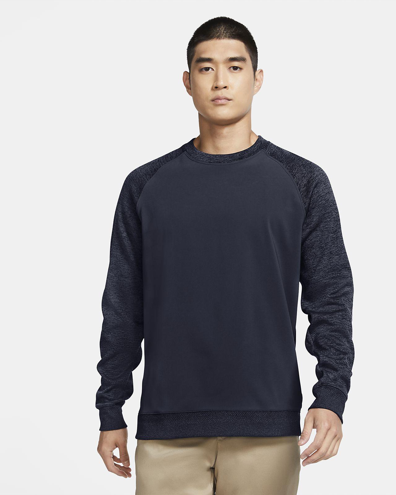 Męska bluza do golfa z długim rękawem Nike Dri-FIT Player