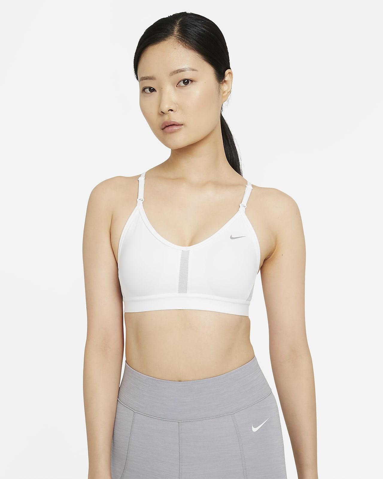 Nike Indy Women's Light-Support Padded V-Neck Sports Bra