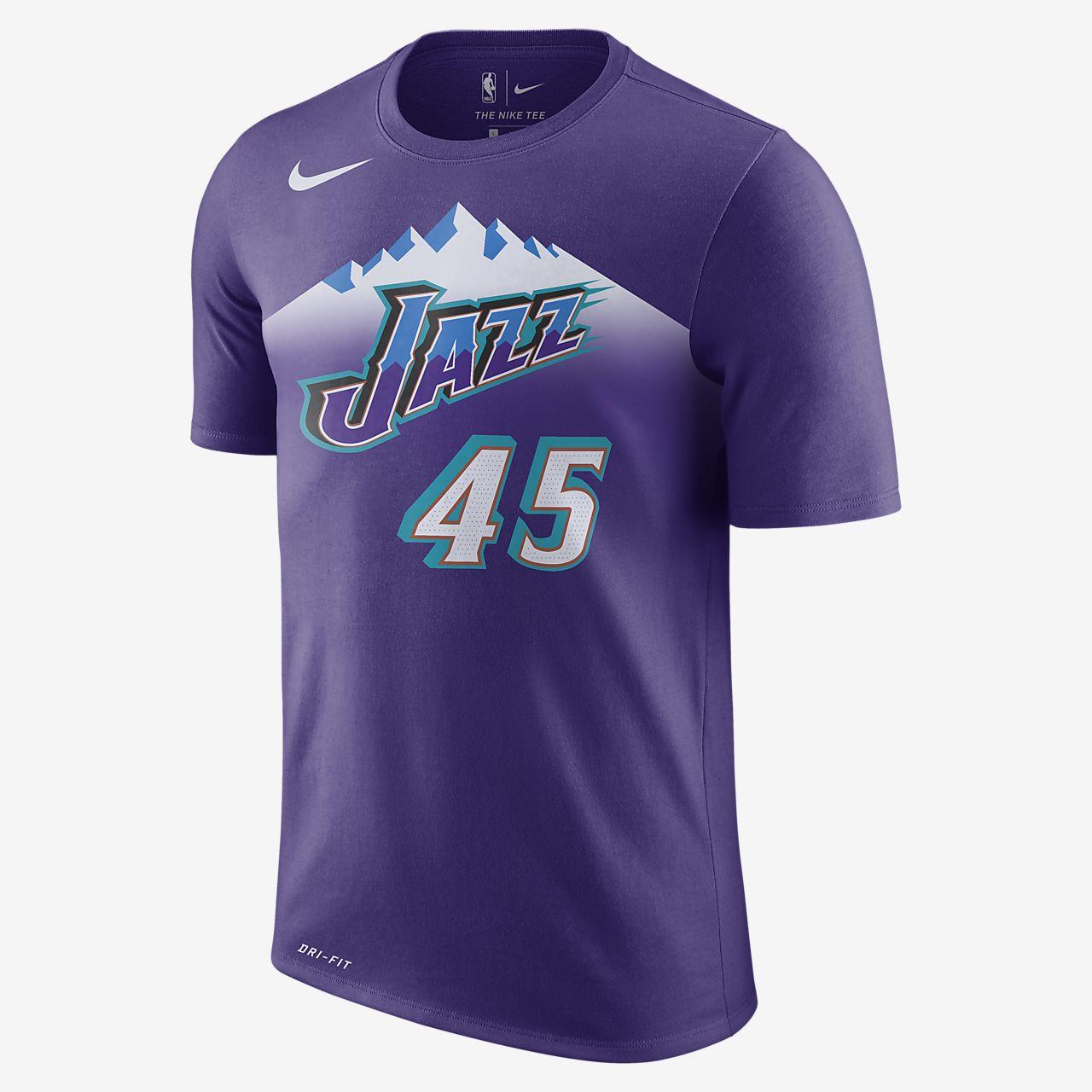 犹他爵士队 (Donovan Mitchell) Nike Dri-FIT NBA 男子T恤