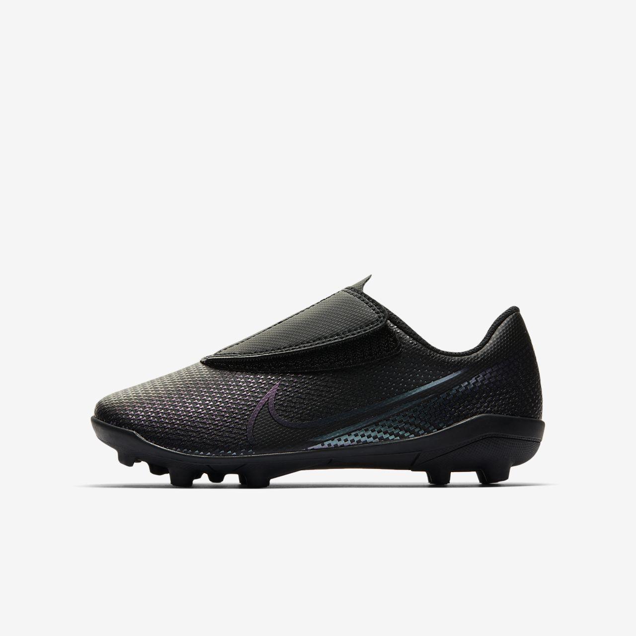 Chuteiras de futebol multiterreno Nike Jr. Mercurial Vapor 13 Club MG para bebécriança