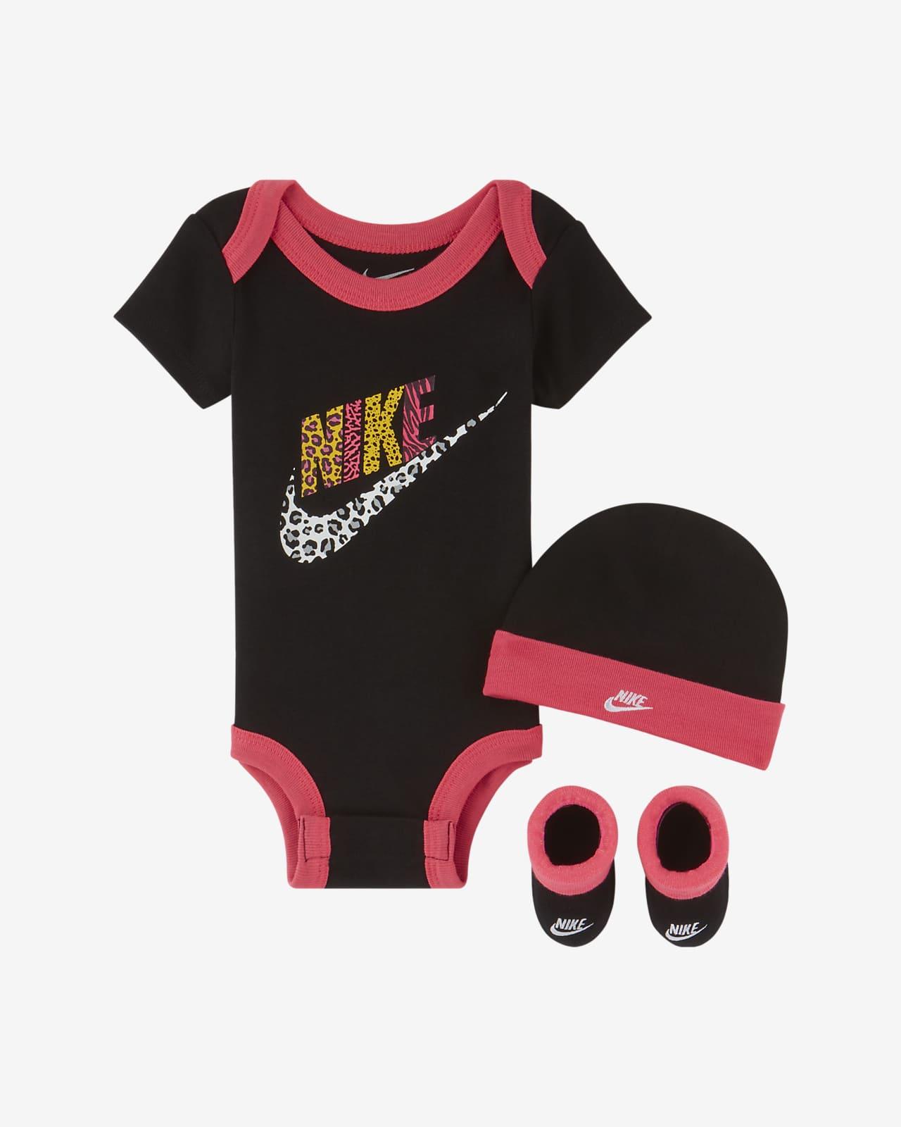 Conjunto de 3 peças Nike para bebé (12-24 M)