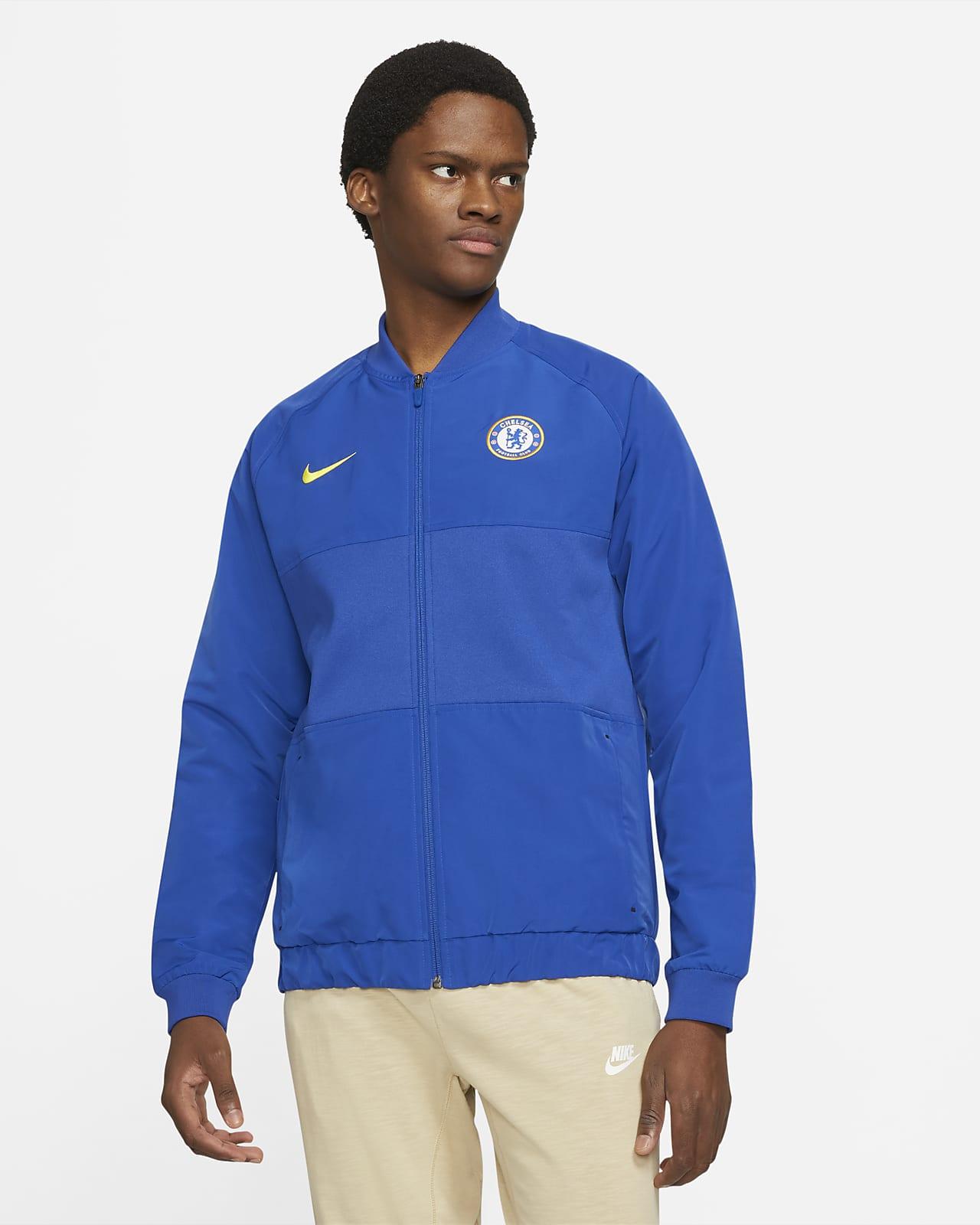 Chelsea F.C. Men's Nike Dri-FIT Full-Zip Football Jacket