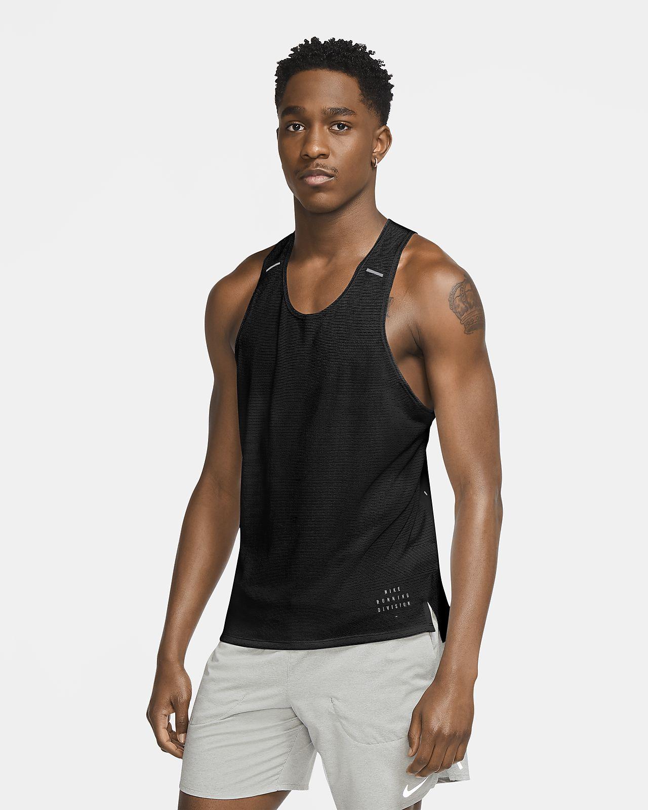 เสื้อกล้ามวิ่งผู้ชาย Nike Run Division Adapt