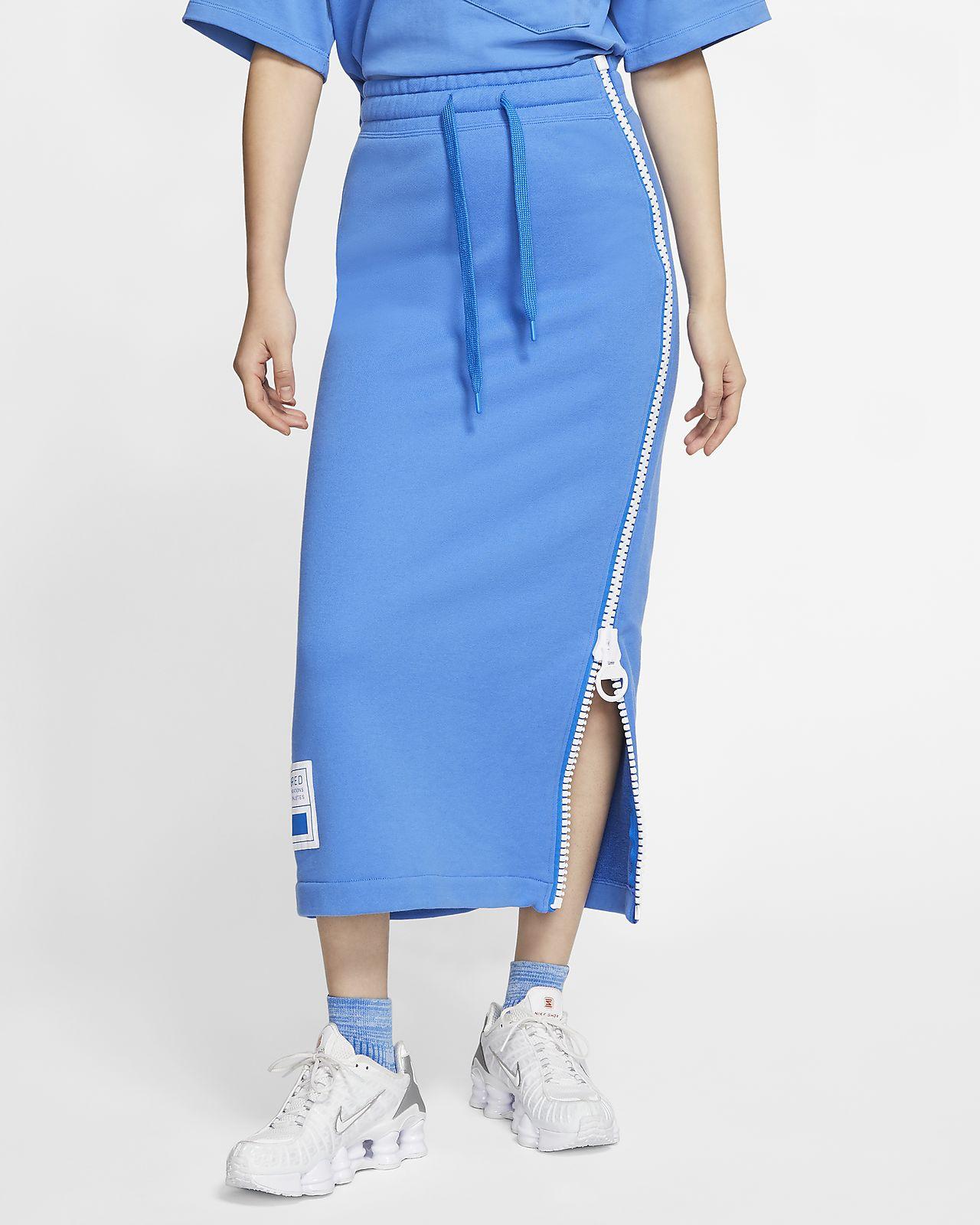 กระโปรงฟลีซผู้หญิง Nike Sportswear NSW