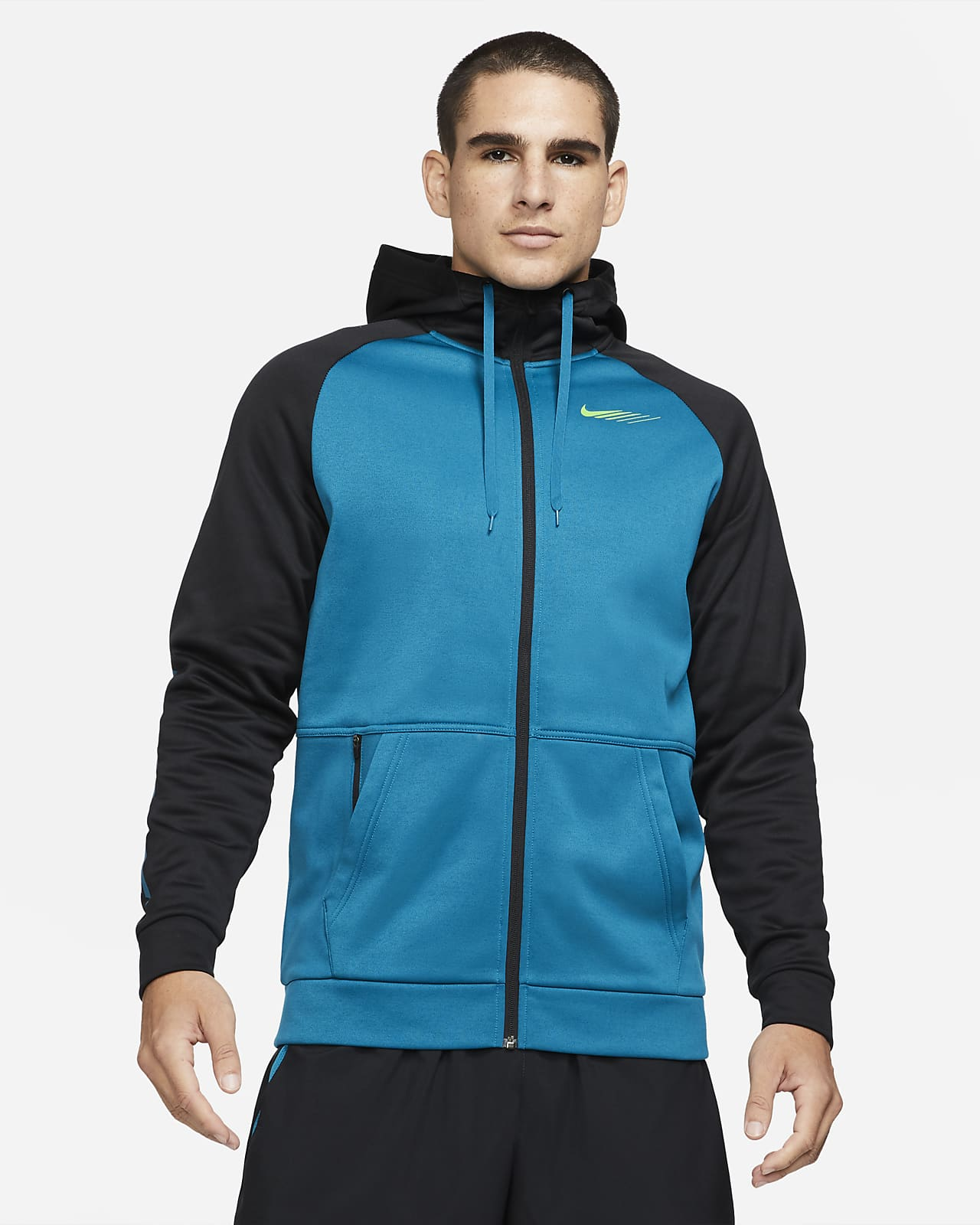 Nike Therma Sport Clash treningshettejakke til herre
