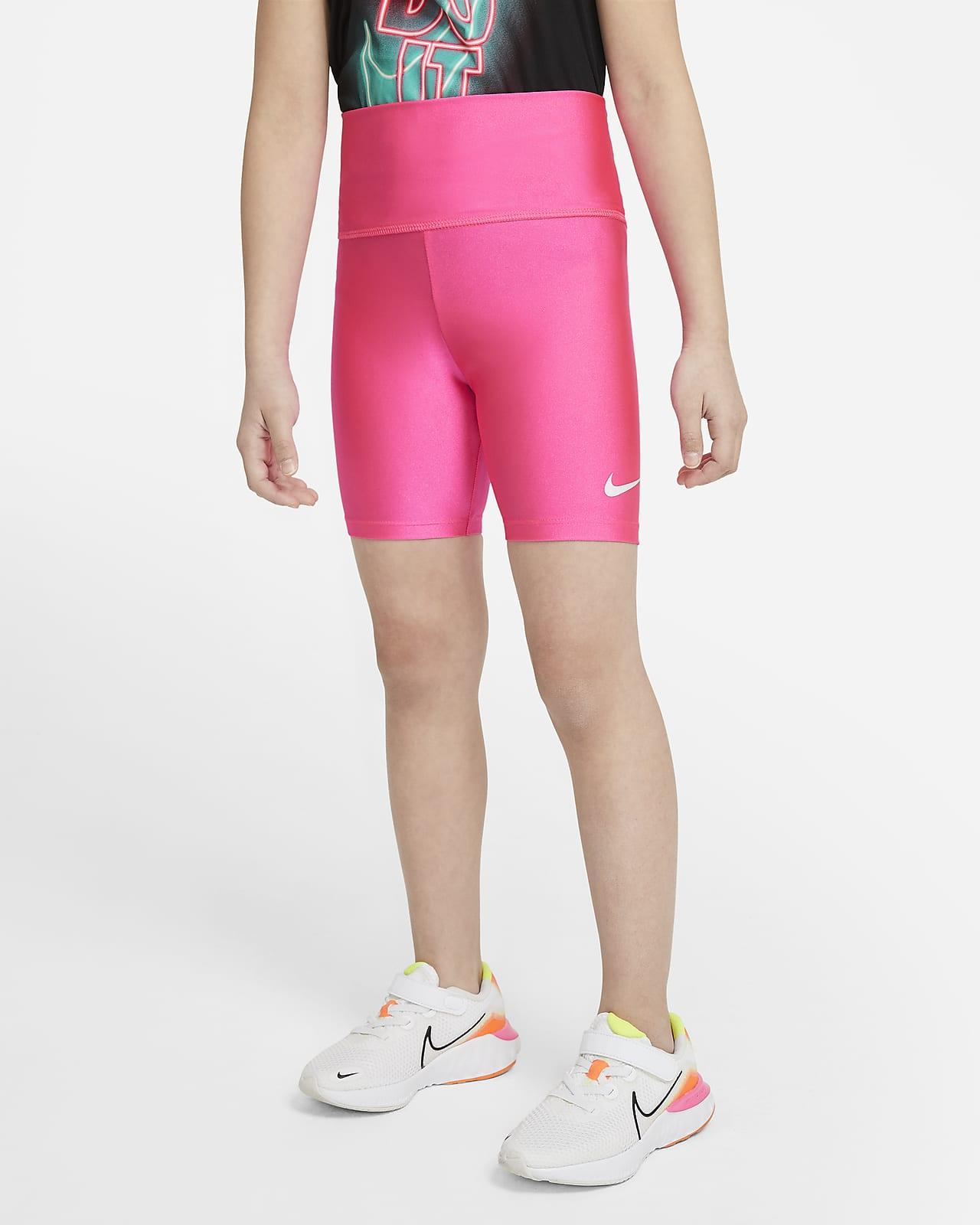 Nike Little Kids' High-Waisted Shorts