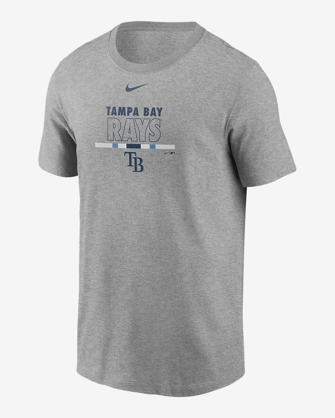 Nike Color Bar (MLB Tampa Bay Rays) Men's T-Shirt