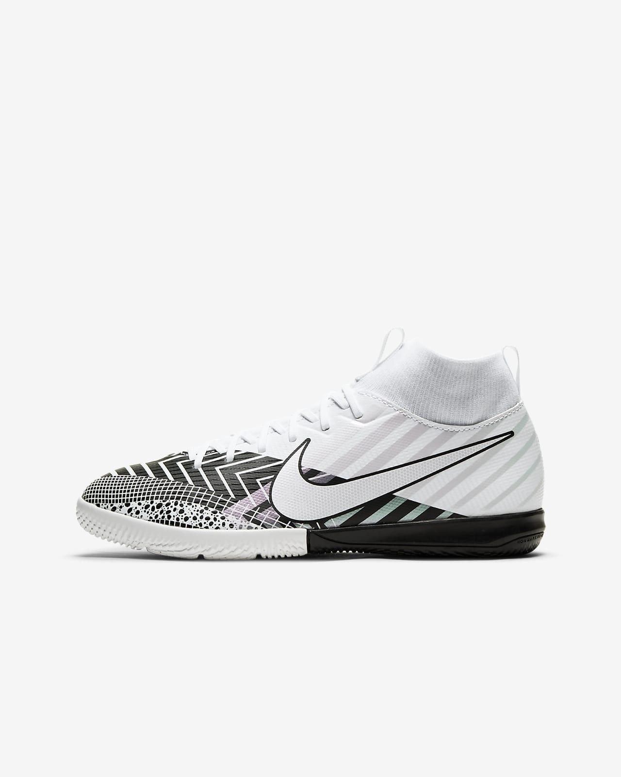 Nike Jr. Mercurial Superfly 7 Academy MDS IC Little/Big Kids' Indoor/Court Soccer Shoe