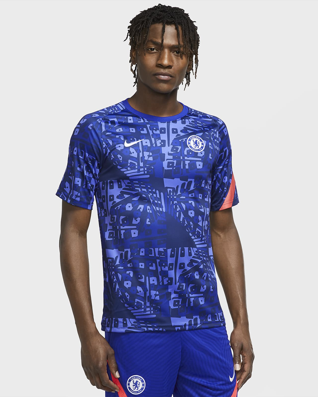Chelsea F.C. Men's Pre-Match Short-Sleeve Football Top