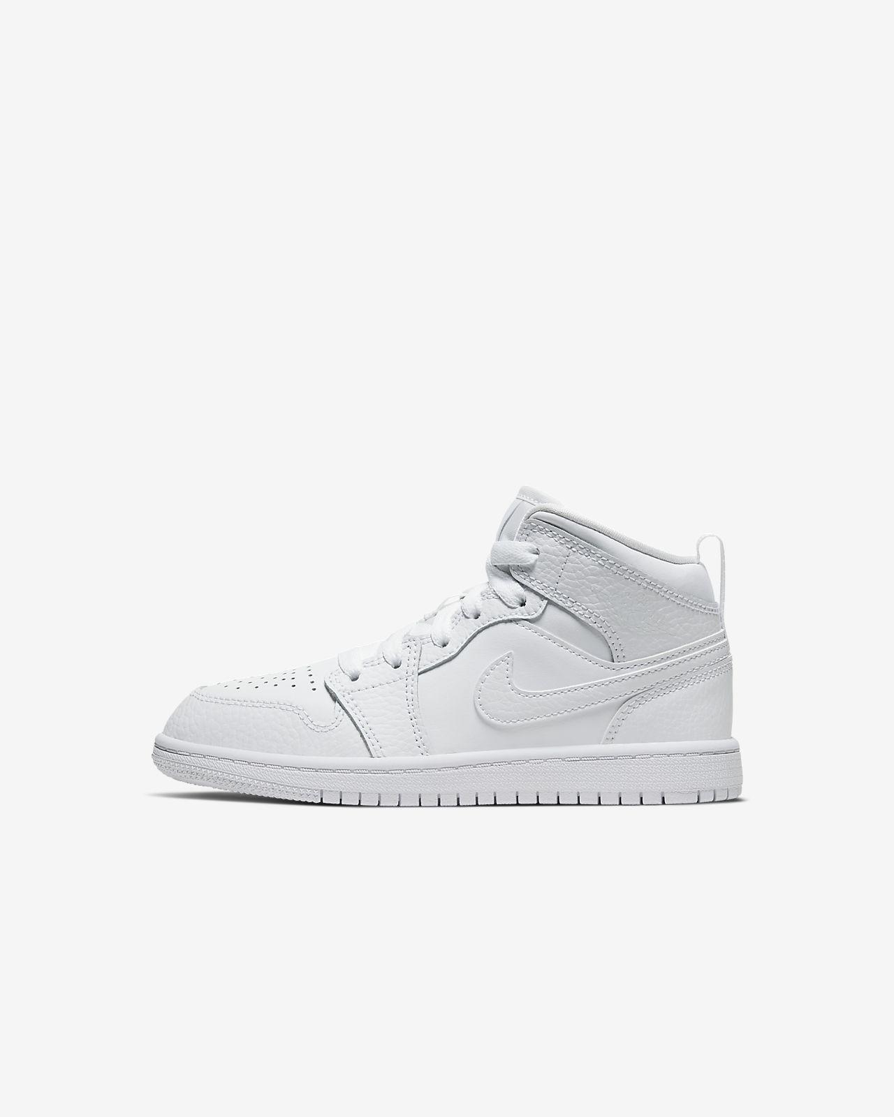 Jordan 1 Mid Zapatillas Niñoa pequeñoa