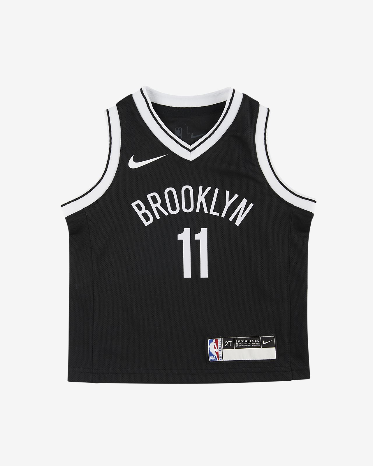 布鲁克林篮网队 (Kyrie Irving) Icon Edition Nike NBA Replica Jersey 婴童球衣