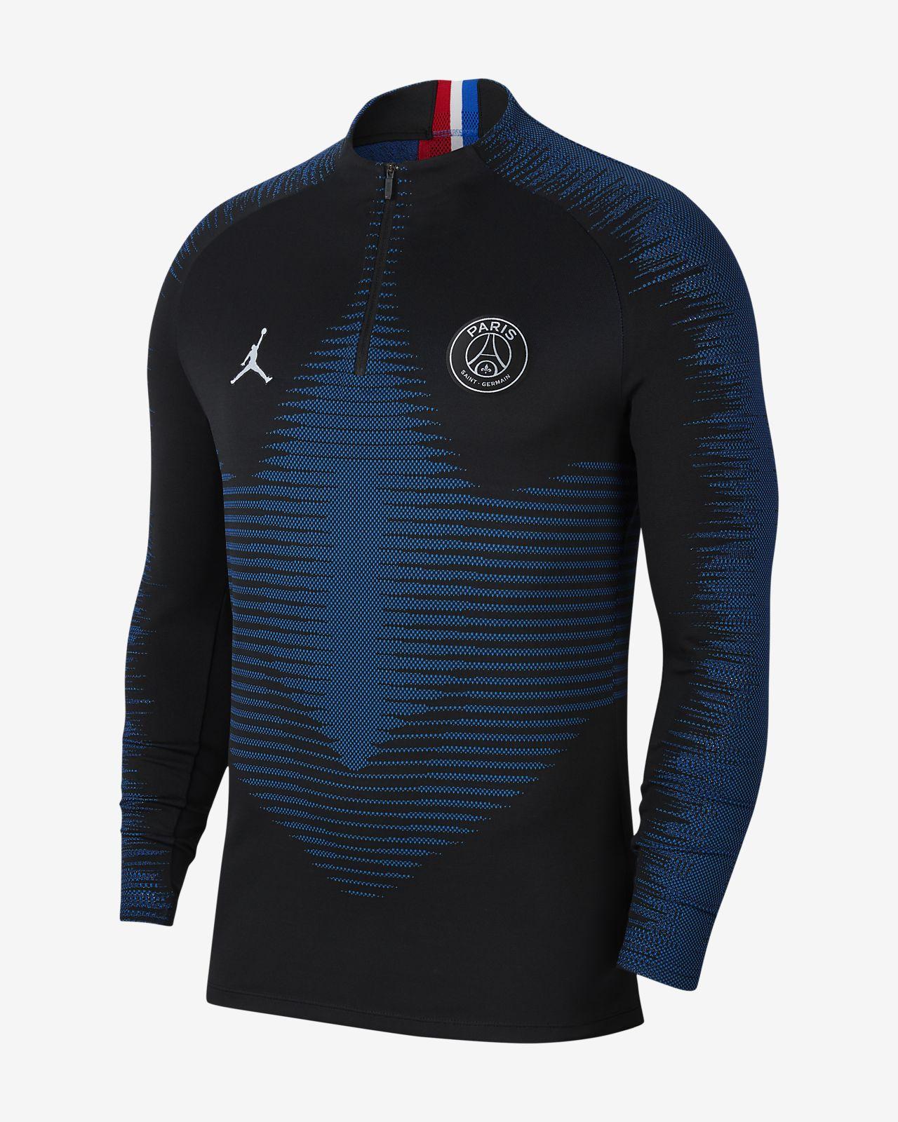 Prenda para la parte superior de entrenamiento de fútbol para hombre Nike VaporKnit Paris Saint-Germain Strike