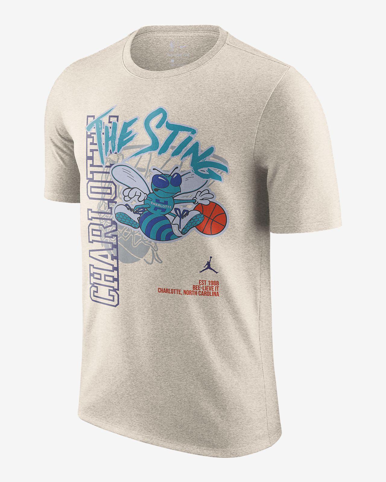 夏洛特黄蜂队 Jordan NBA 男子T恤