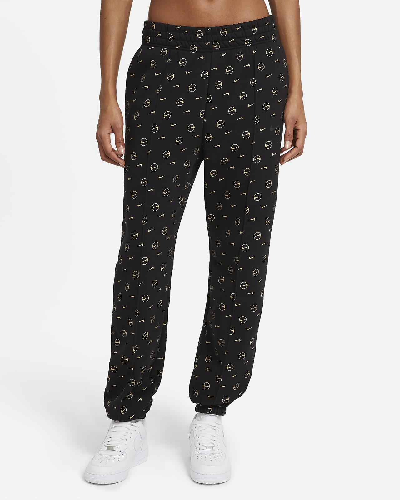 Nike Sportswear-bukser med print til kvinder
