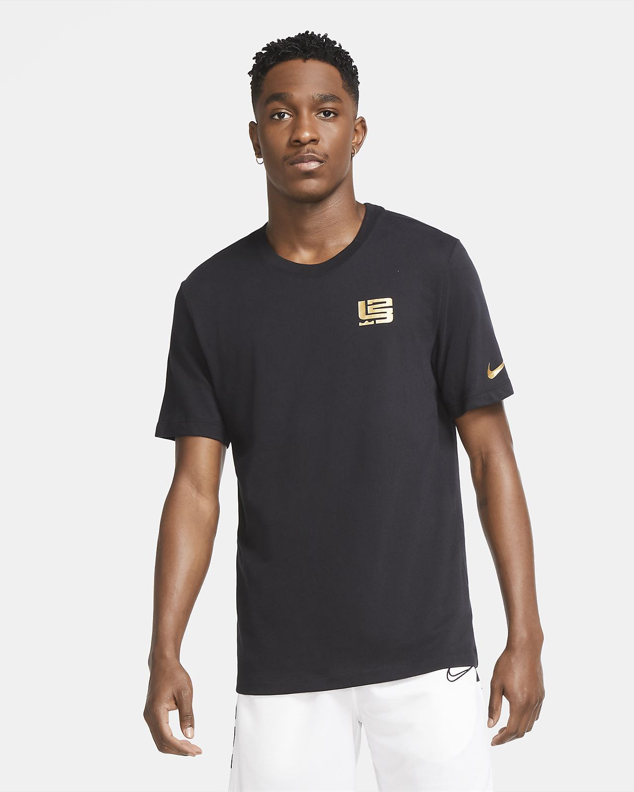 Tee-shirt de basketball Nike Dri-FIT LeBron « Strive for Greatness » pour Homme