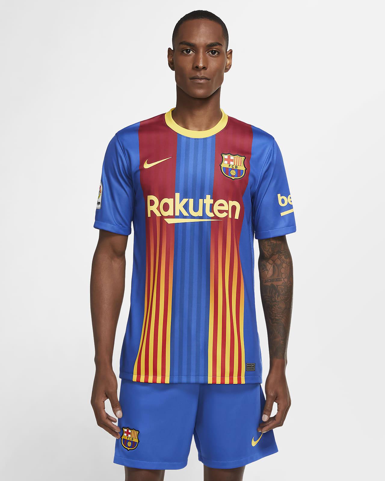FC Barcelona Stadium Men's Soccer Jersey
