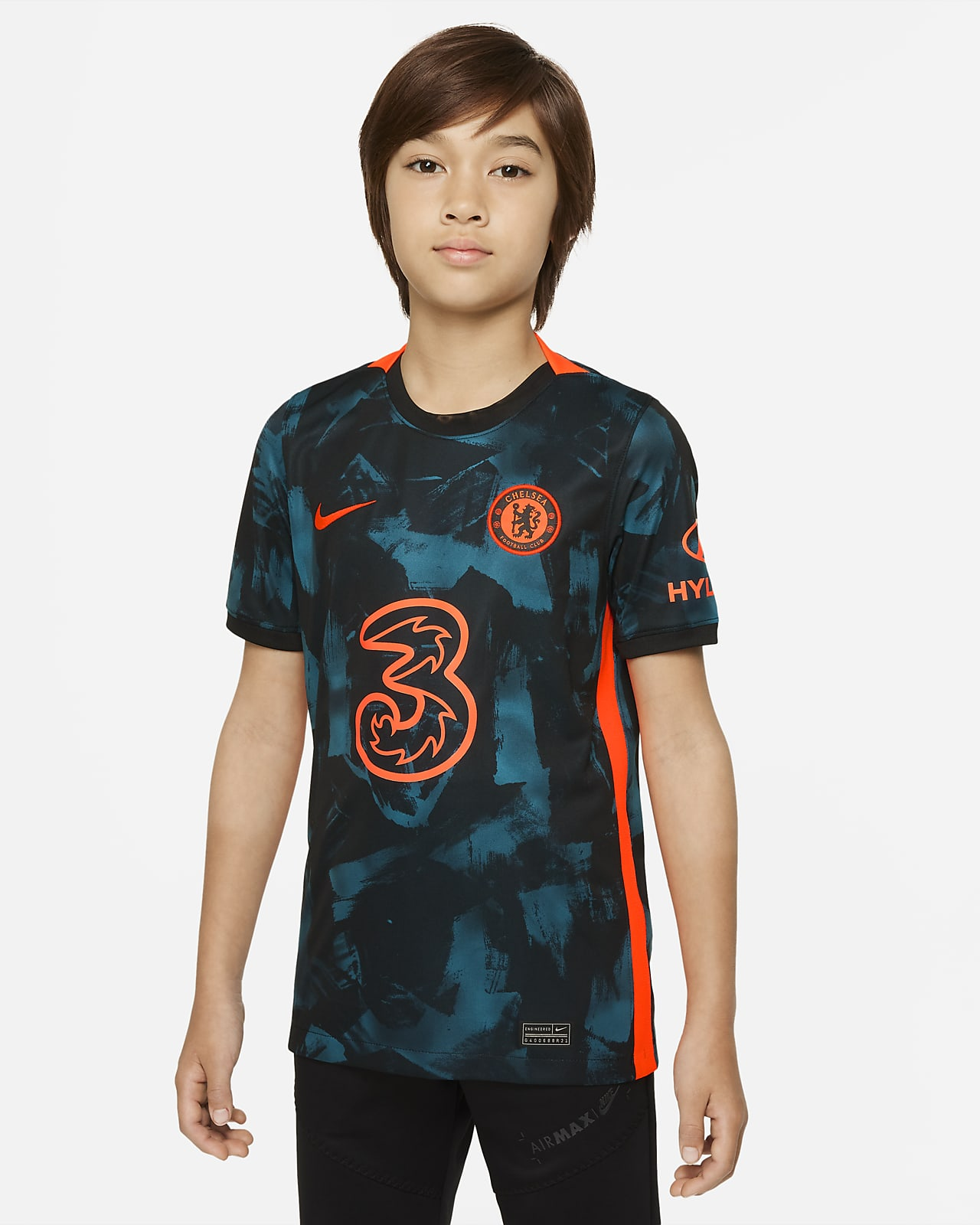 Chelsea F.C. 2021/22 Stadium Third Older Kids' Nike Dri-FIT Football Shirt
