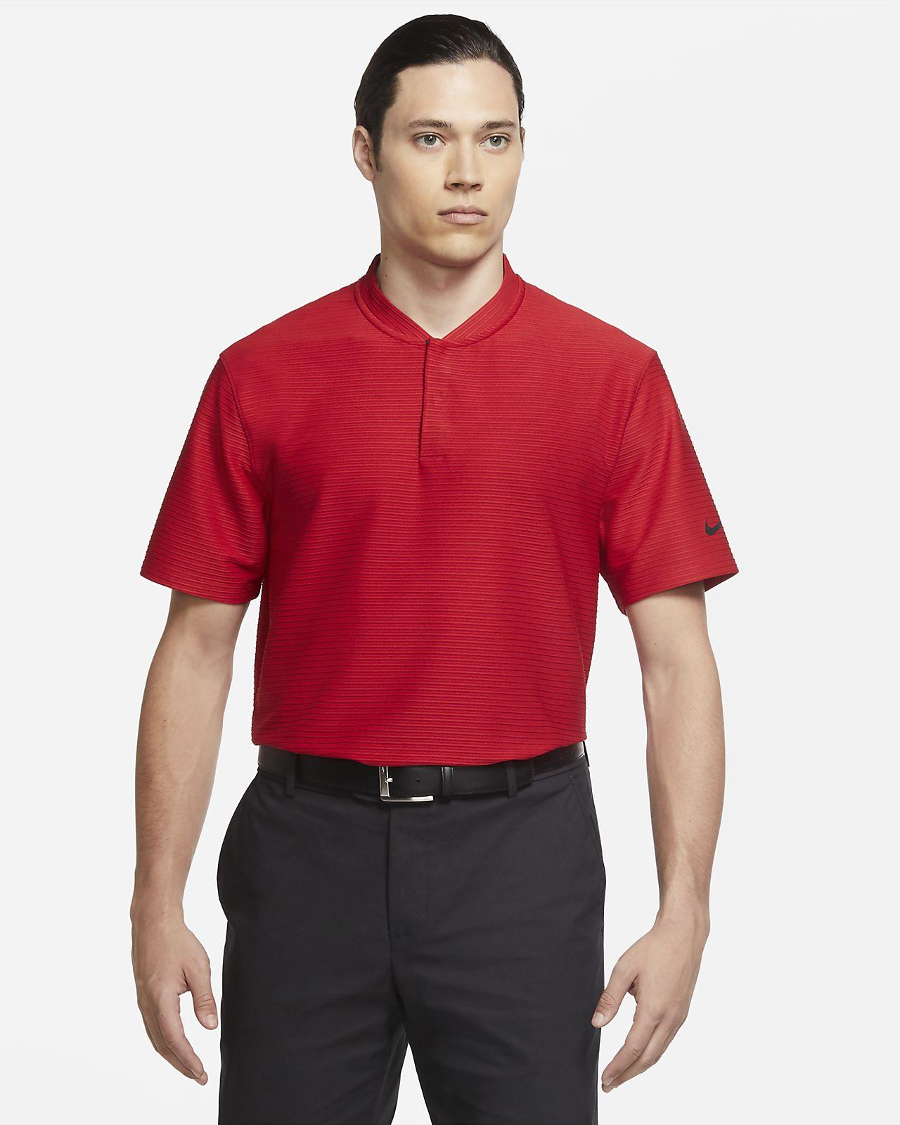 Nike Dri-FIT Tiger Woods Erkek Golf Polo Üst