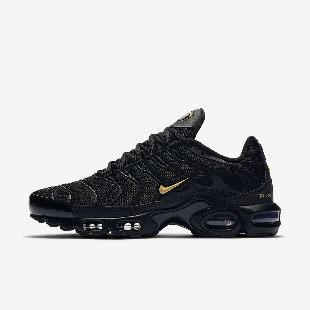 Sportschoenen Nike Air Max Plus TN Tuned Mens Shoes in Black