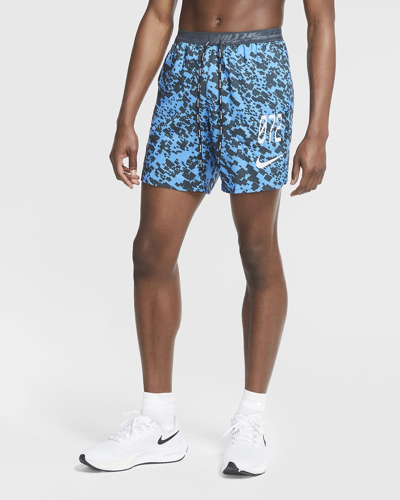 Nike Stride Wild Run 男款無襯裡跑步短褲
