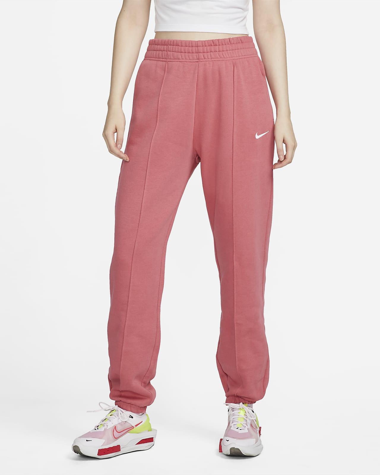 Calças de lã cardada Nike Sportswear Essential Collection para mulher