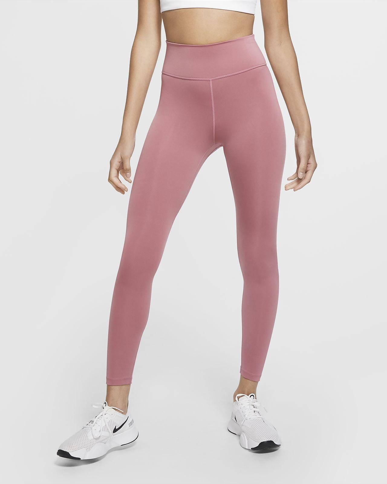 กางเกงรัดรูปผู้หญิง 7/8 ส่วนมีกราฟิก Nike One