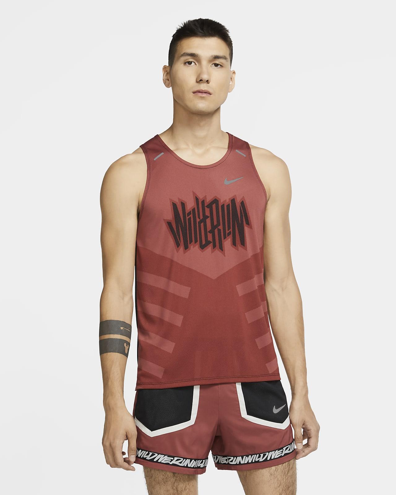 Camisola de running sem mangas Nike Dri-FIT Rise 365 Wild Run para homem